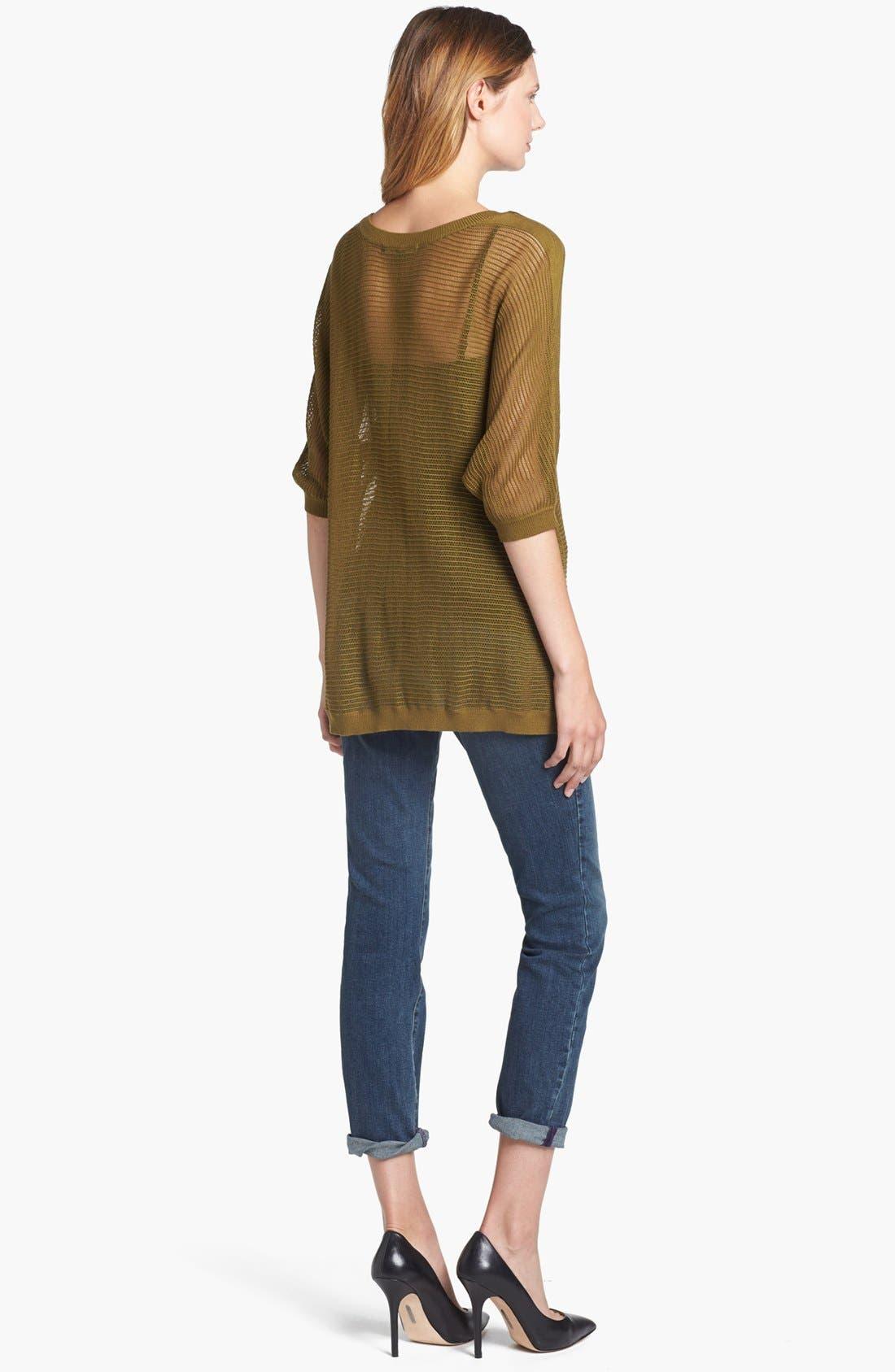 Alternate Image 5  - NYDJ 'Leann' Stretch Skinny Boyfriend Jeans (Loma Linda)