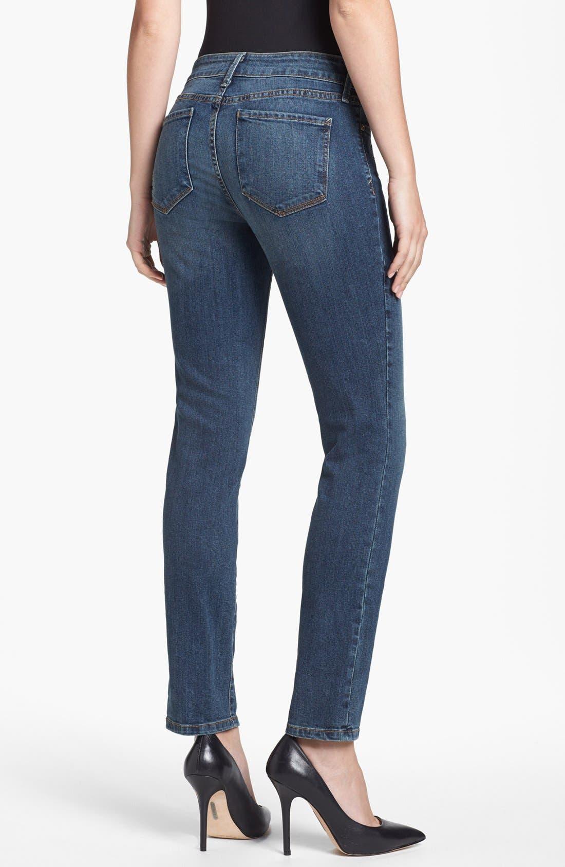 Alternate Image 3  - NYDJ 'Leann' Stretch Skinny Boyfriend Jeans (Loma Linda)