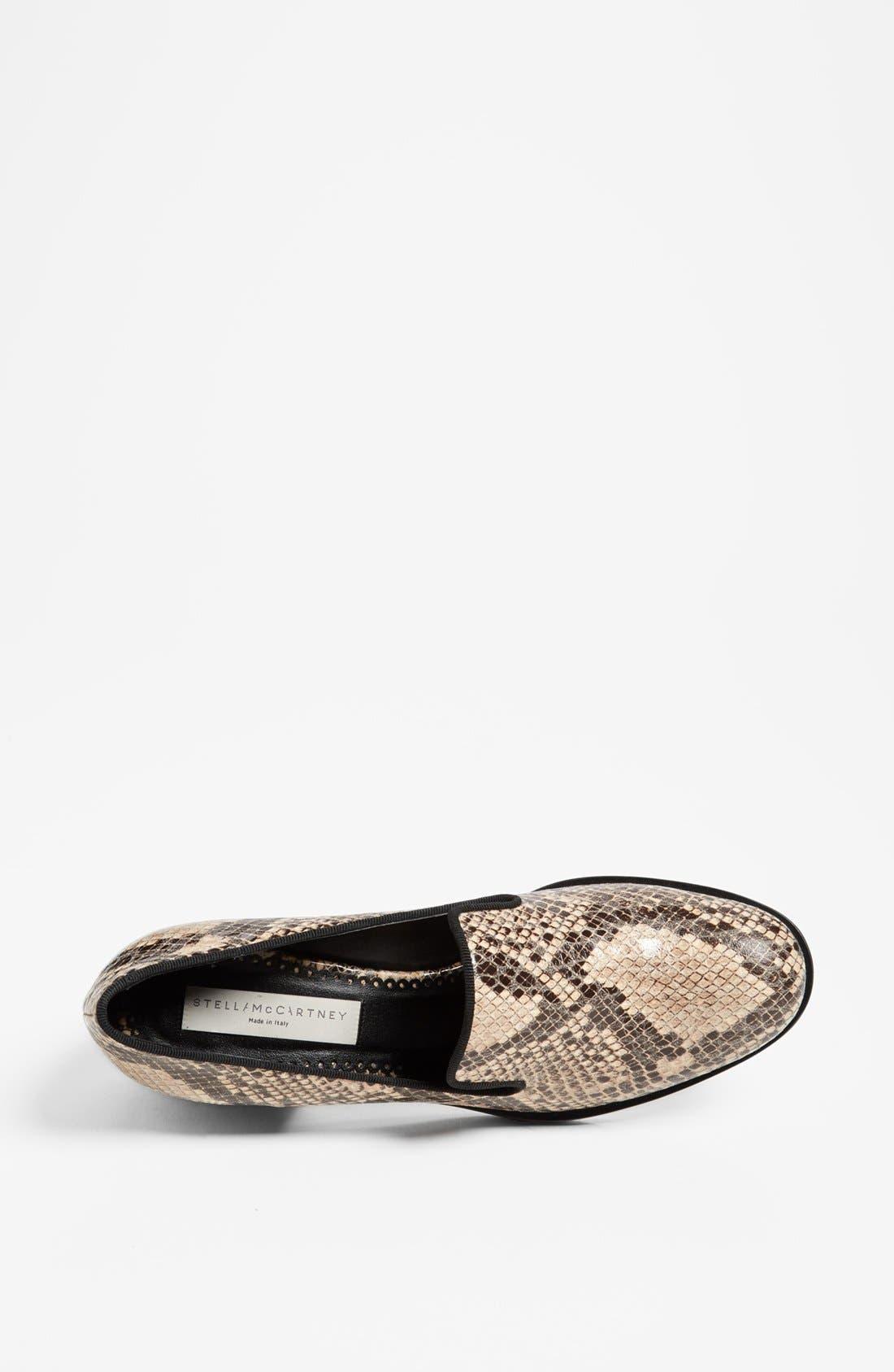 Alternate Image 3  - Stella McCartney Python Print Loafer