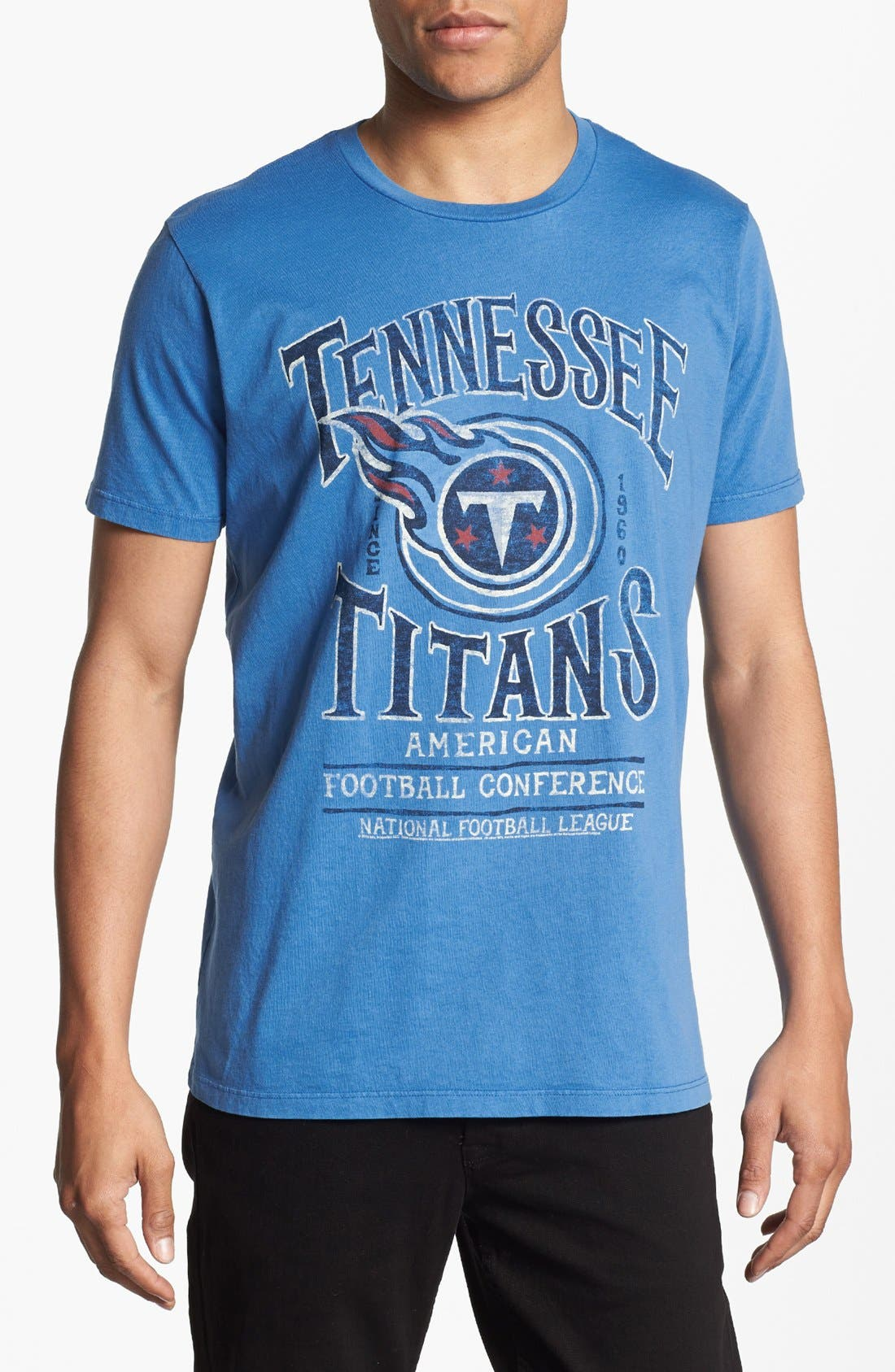 Alternate Image 1 Selected - Junk Food 'Tennessee Titans - Kick Off' Graphic T-Shirt
