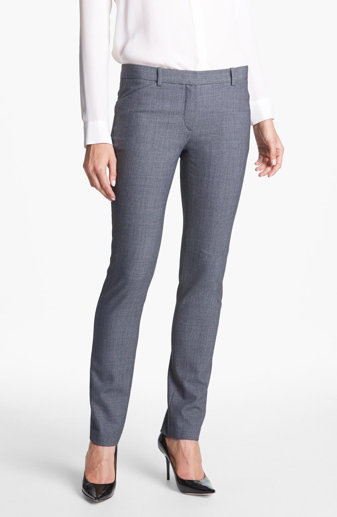Main Image - Theory 'Taye' Stretch Trousers