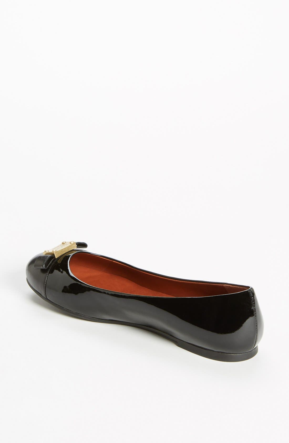 Alternate Image 2  - MARC BY MARC JACOBS 'Tuxedo' Logo Plaque Ballerina Flat