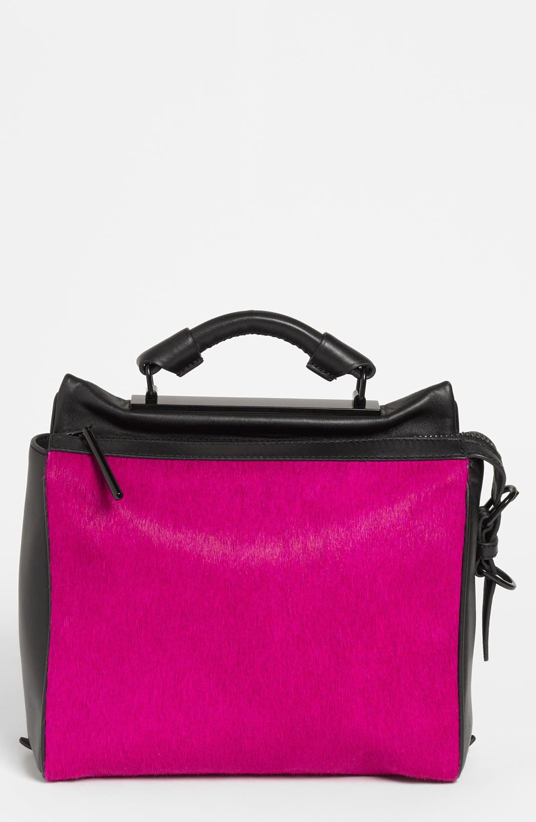 Alternate Image 1 Selected - 3.1 Phillip Lim 'Ryder - Small' Calf Hair & Leather Satchel