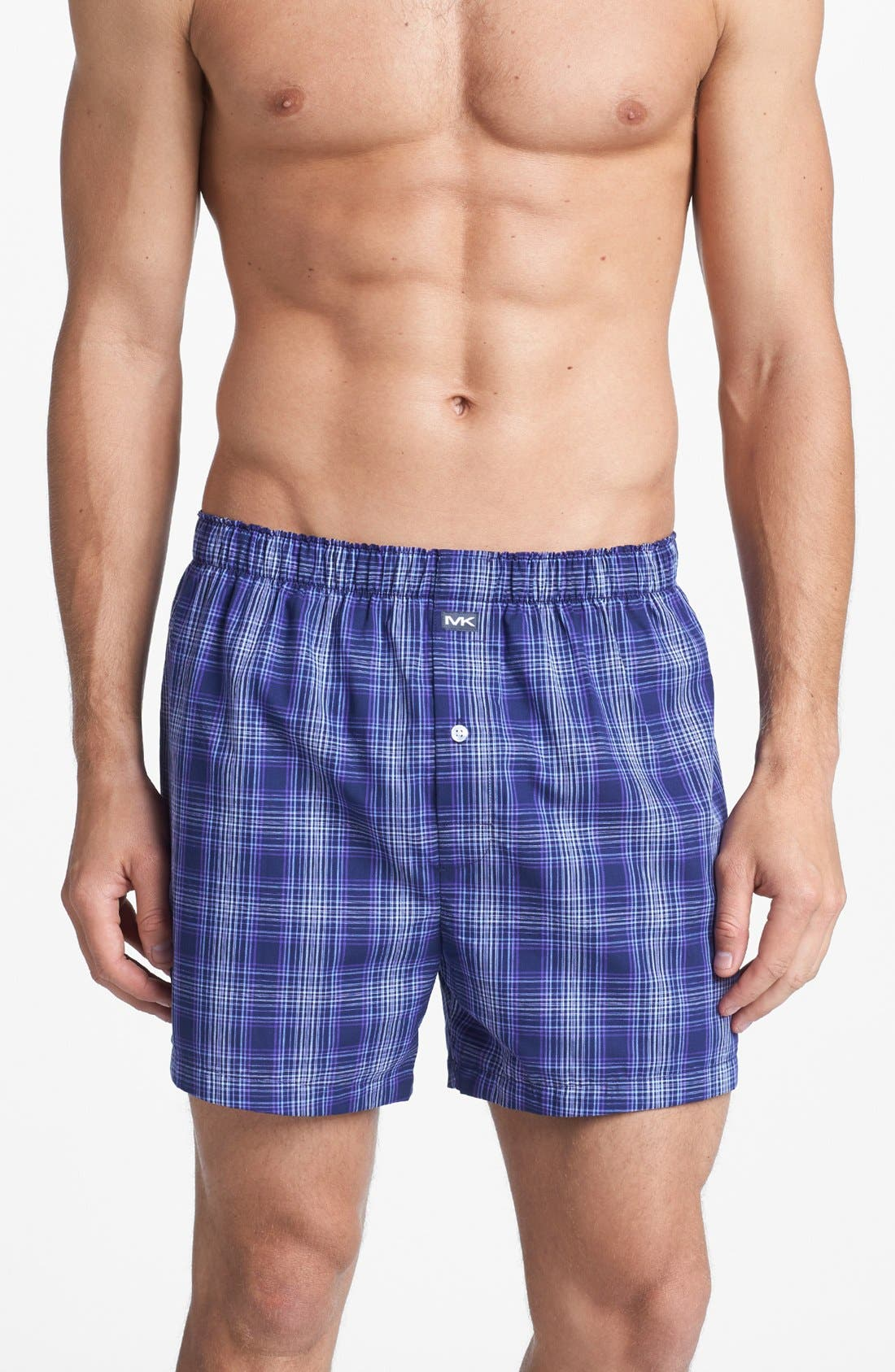 Alternate Image 4  - Michael Kors Woven Boxers (Assorted 2-Pack)