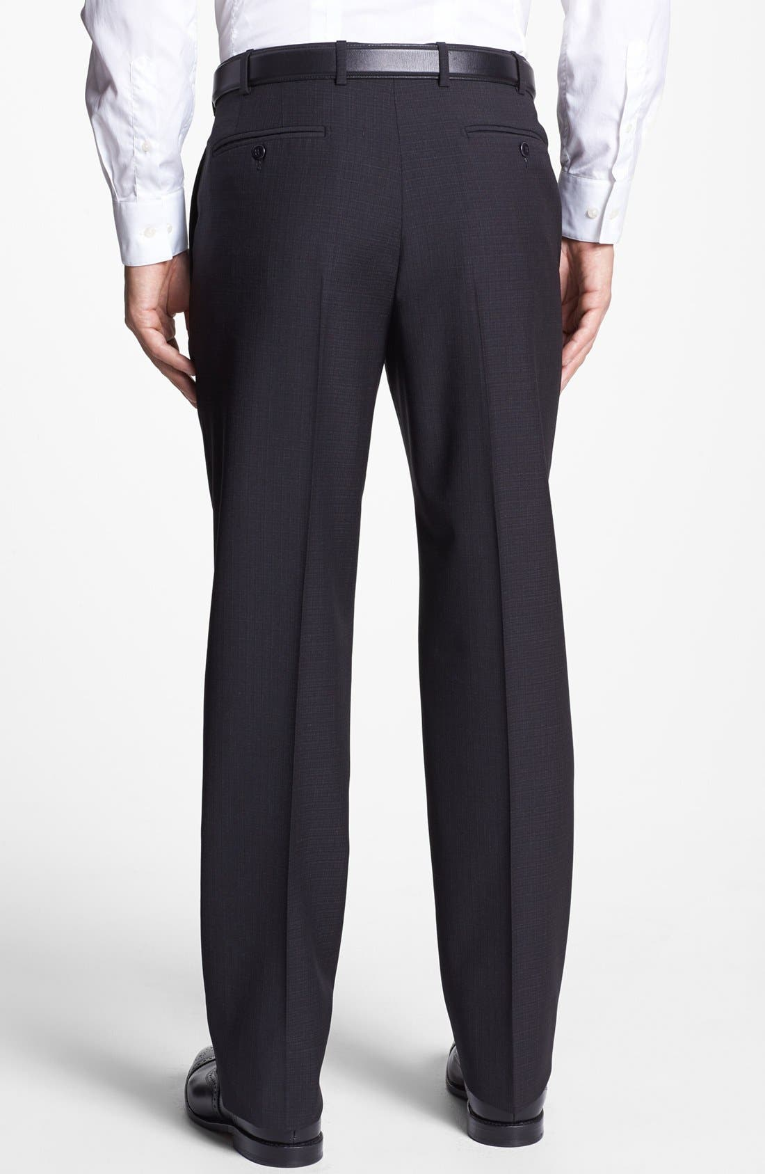 Alternate Image 2  - Zanella 'Devon' Flat Front Trousers
