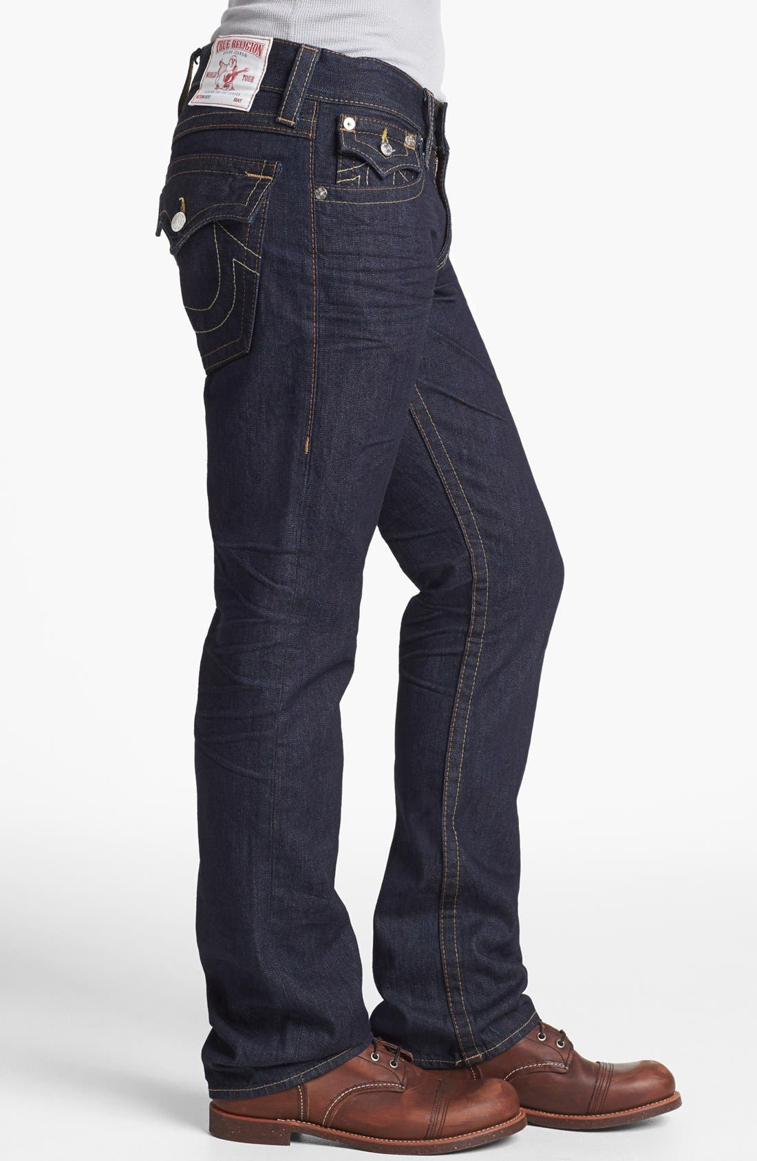 Alternate Image 3  - True Religion Brand Jeans 'Ricky' Relaxed Fit Jeans (Inglorious)
