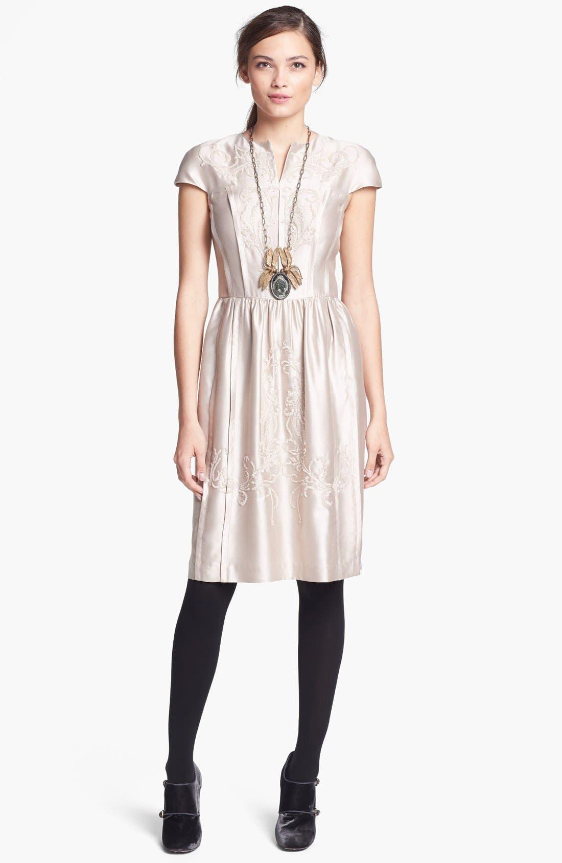 Alternate Image 1 Selected - Tory Burch 'Jessie' Silk Dress