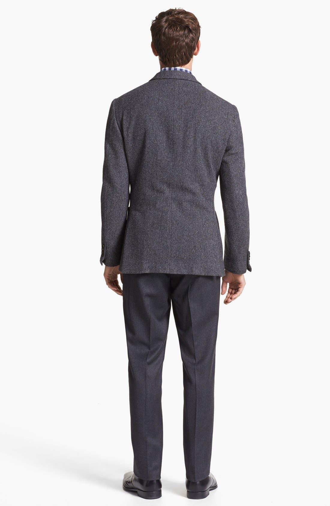 Alternate Image 5  - Wallin & Bros. Trim Fit Houndstooth Vest