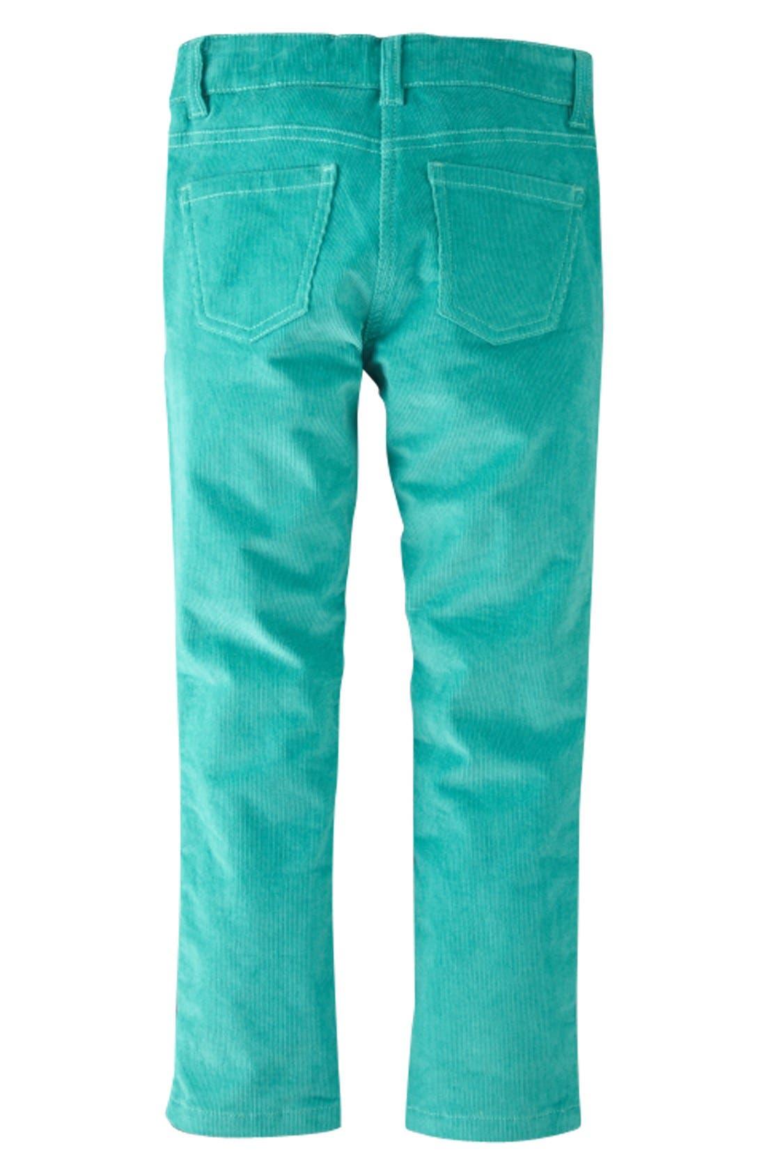 Alternate Image 2  - Mini Boden Slim Fit Corduroy Pants (Toddler Girls, Little Girls & Big Girls)