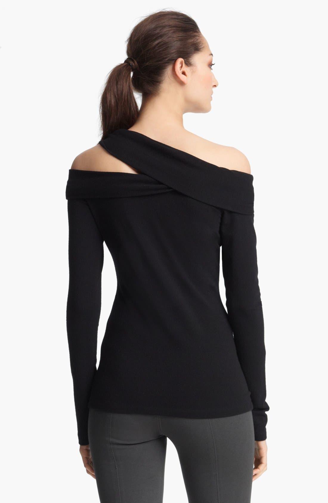 Alternate Image 2  - Donna Karan Collection Cold Shoulder Top