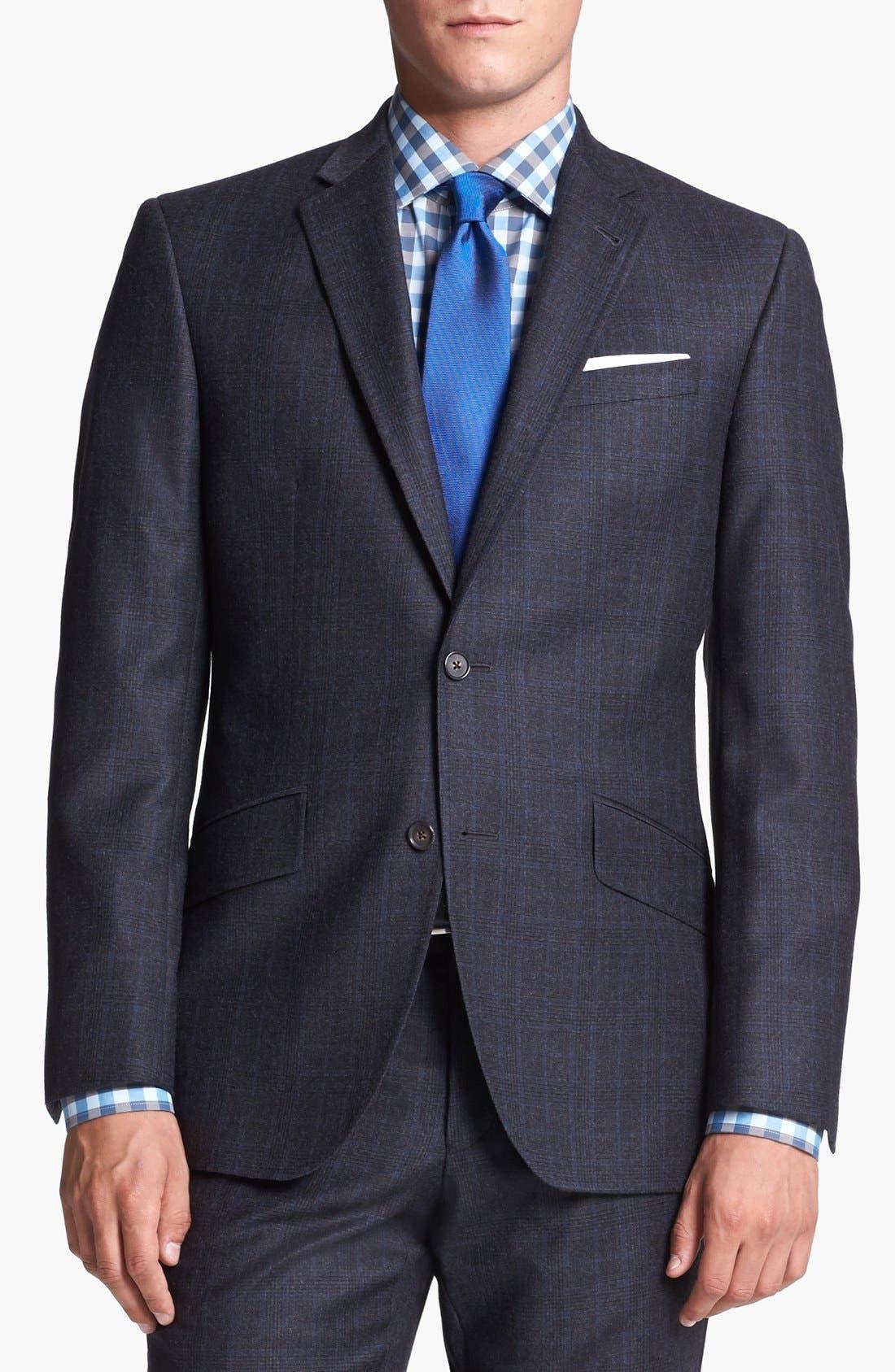 Alternate Image 3  - Ted Baker London Suit & Calibrate Dress Shirt