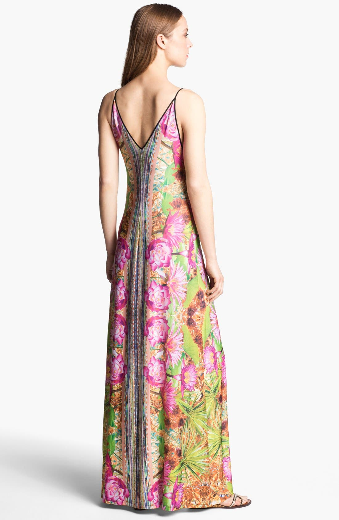 Alternate Image 2  - Clover Canyon 'Fool's Gold' Stretch Maxi Dress
