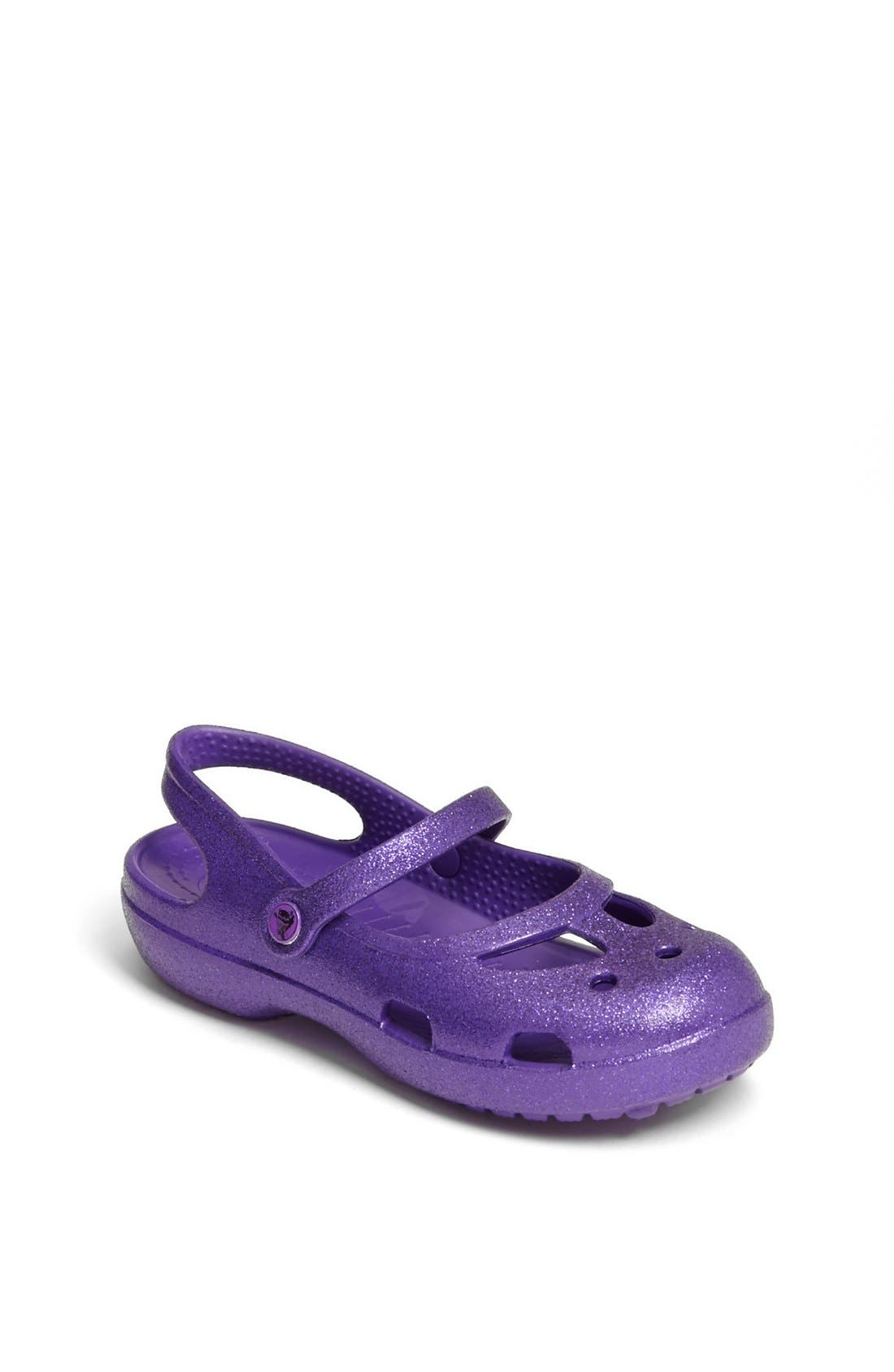 Alternate Image 1 Selected - CROCS™ 'Shayna' Sandal (Baby, Walker, Toddler & Little Kid)
