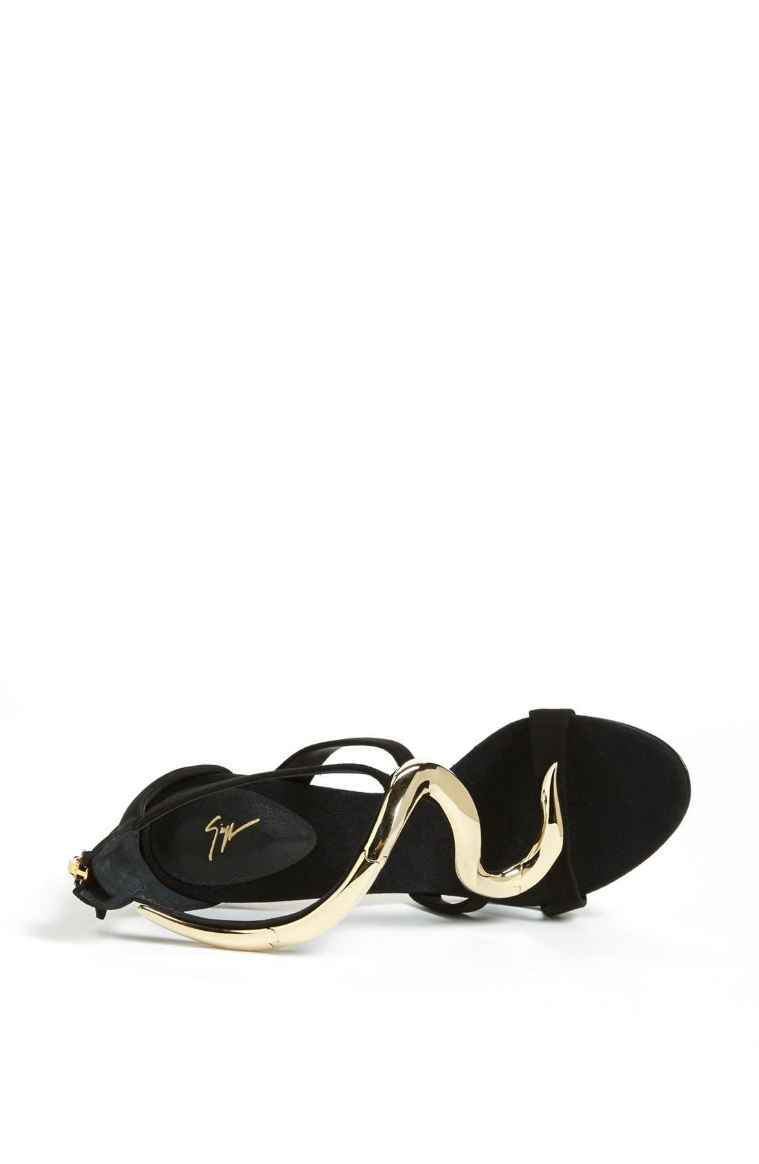 Alternate Image 3  - Giuseppe Zanotti Metal Detail Sandal