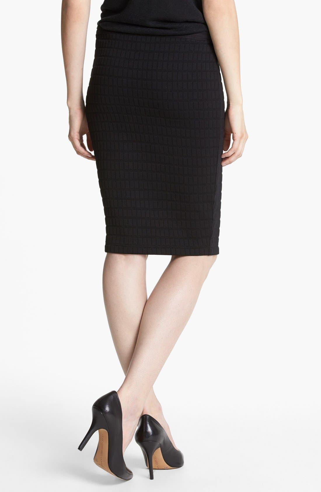 Alternate Image 2  - Bailey 44 'Scanner' Textured Pencil Skirt