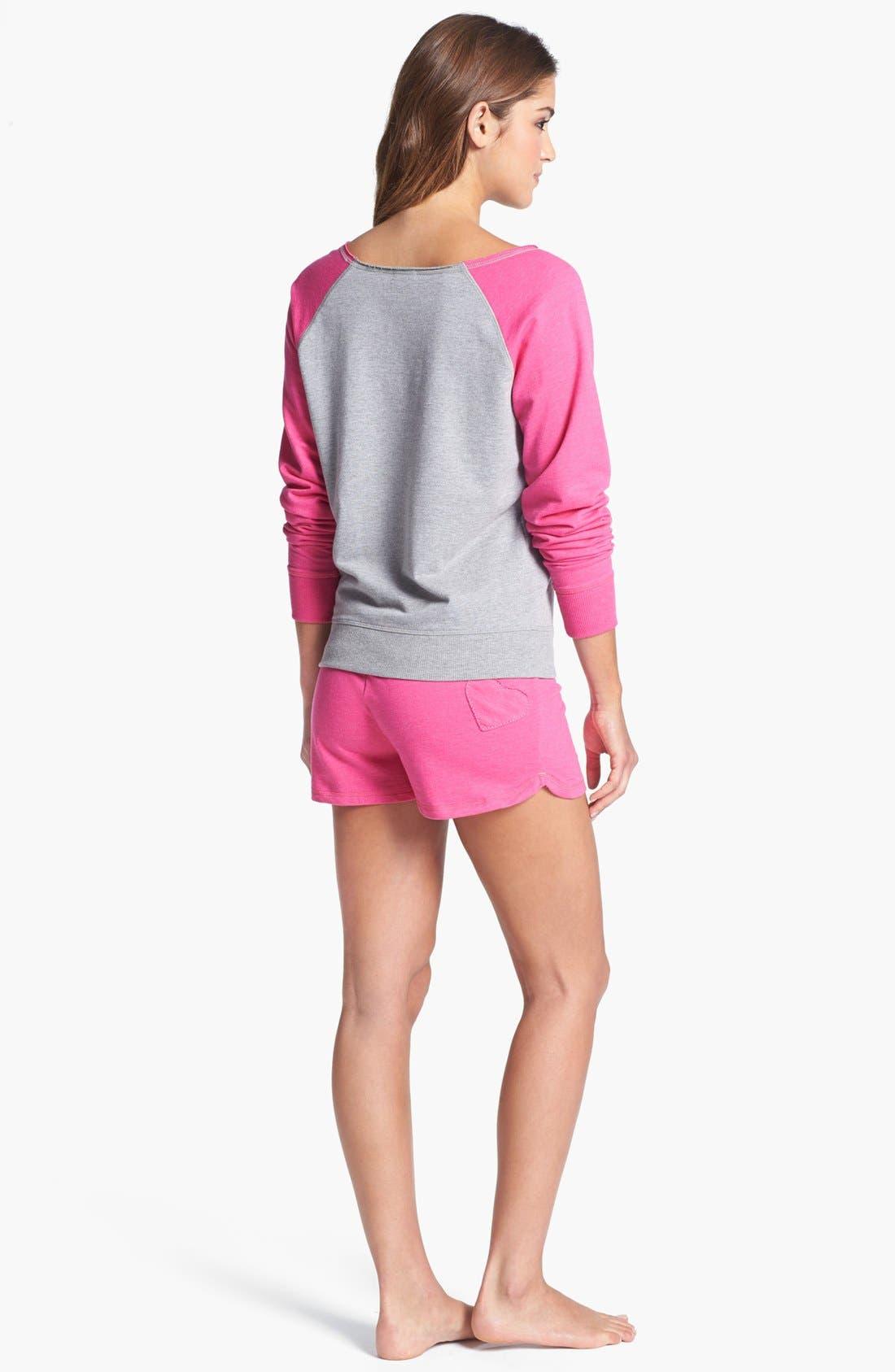 Alternate Image 4  - COZY ZOE 'Dorm Room' Sweatshirt