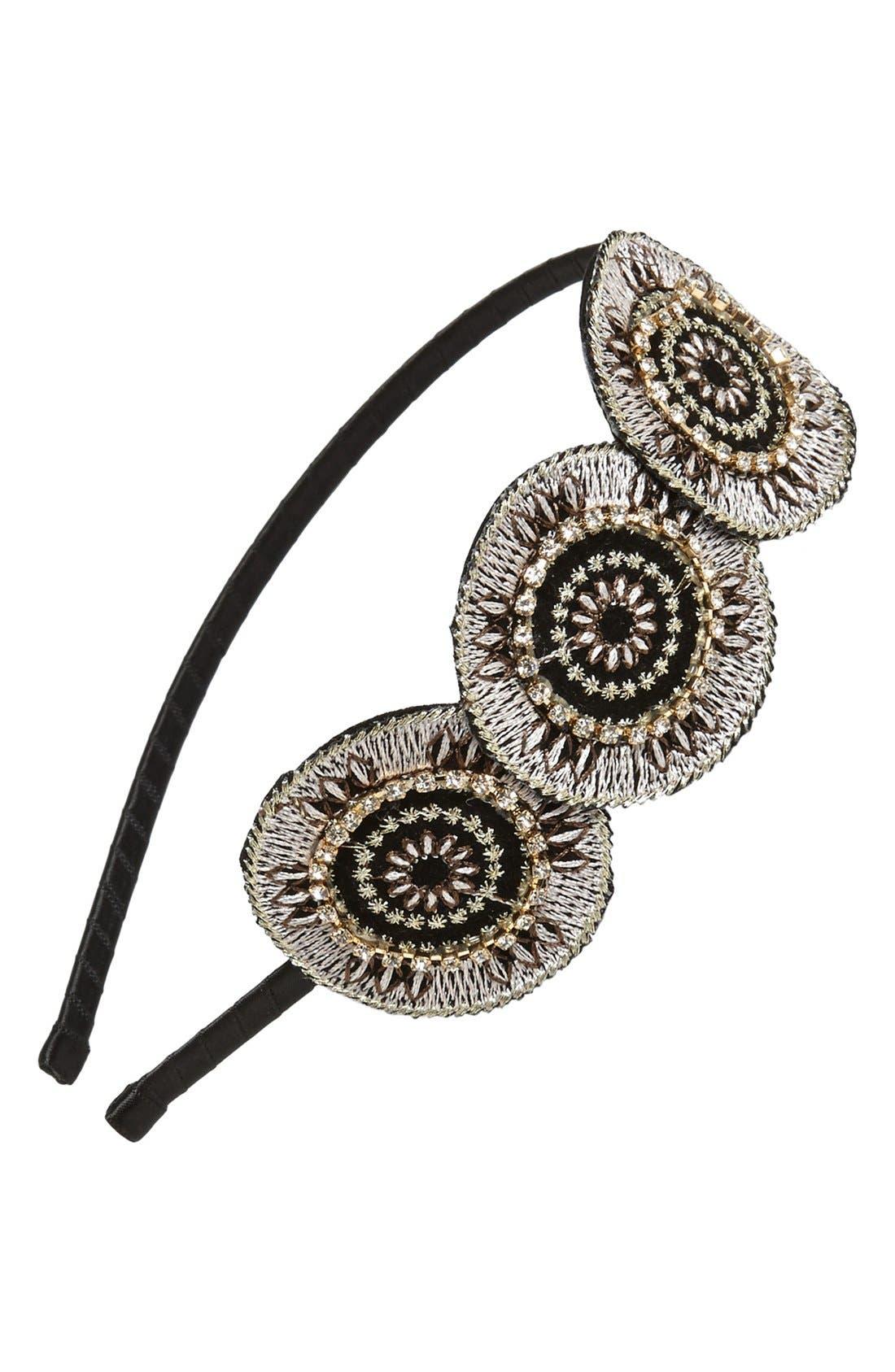 Alternate Image 1 Selected - Cara 'Woven Wonders' Headband