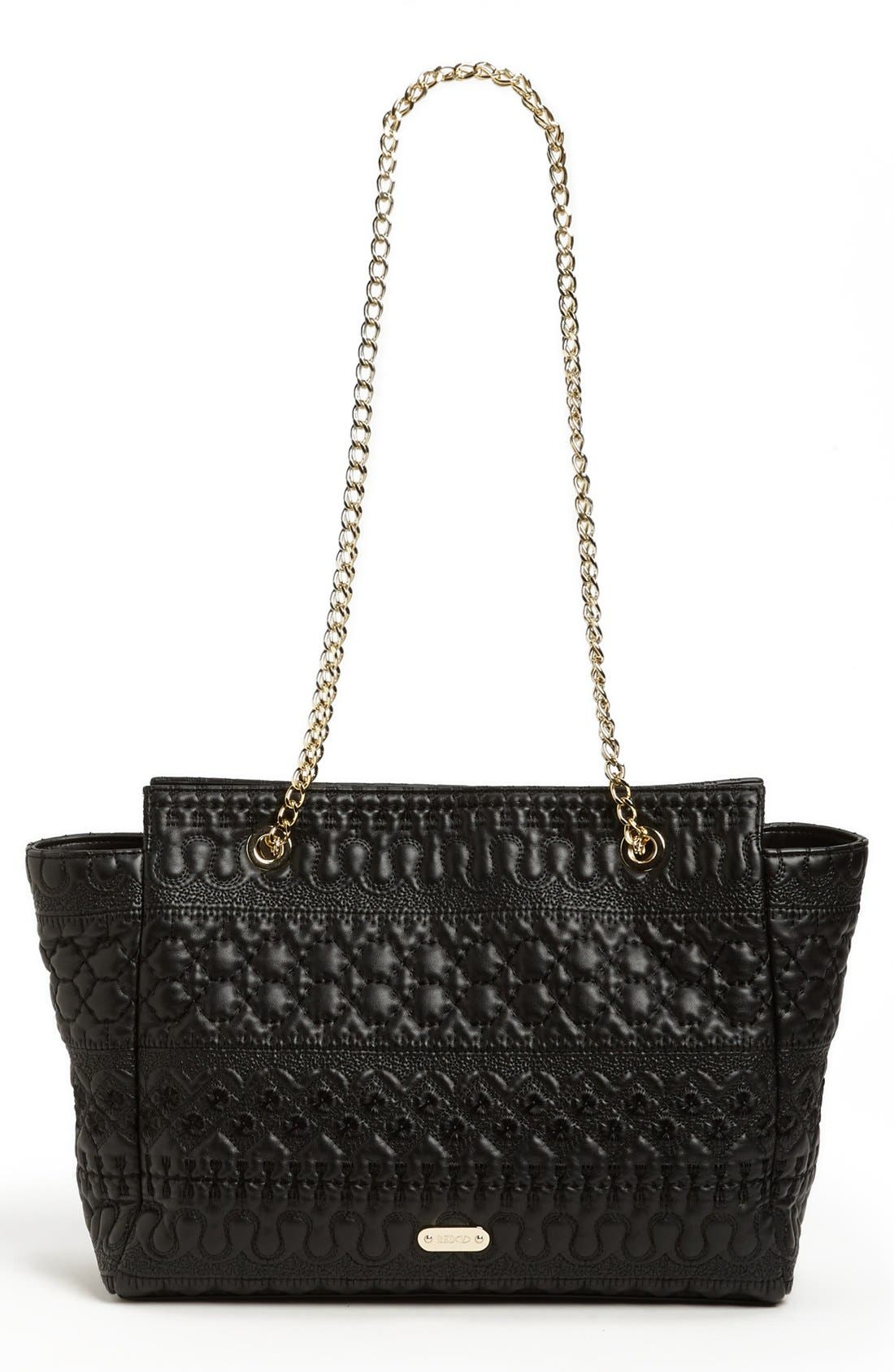 Alternate Image 4  - RED Valentino Embroidered Faux Leather Tote