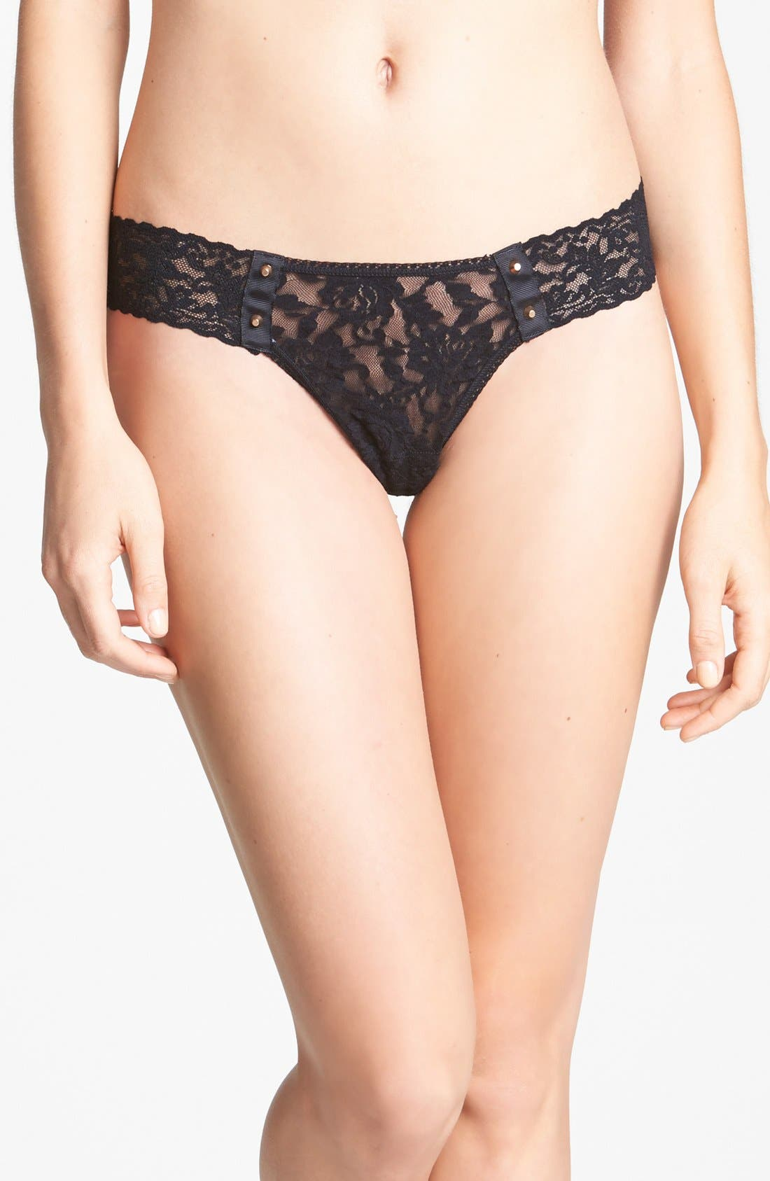 Main Image - Hanky Panky 'After Midnight' Studded Thong