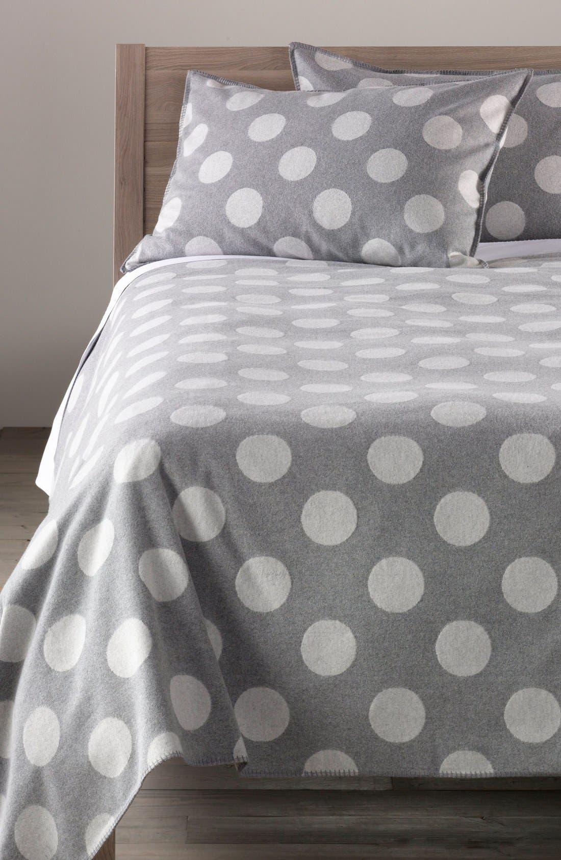 Alternate Image 1 Selected - Nordstrom at Home 'Dottie' Flannel Blanket