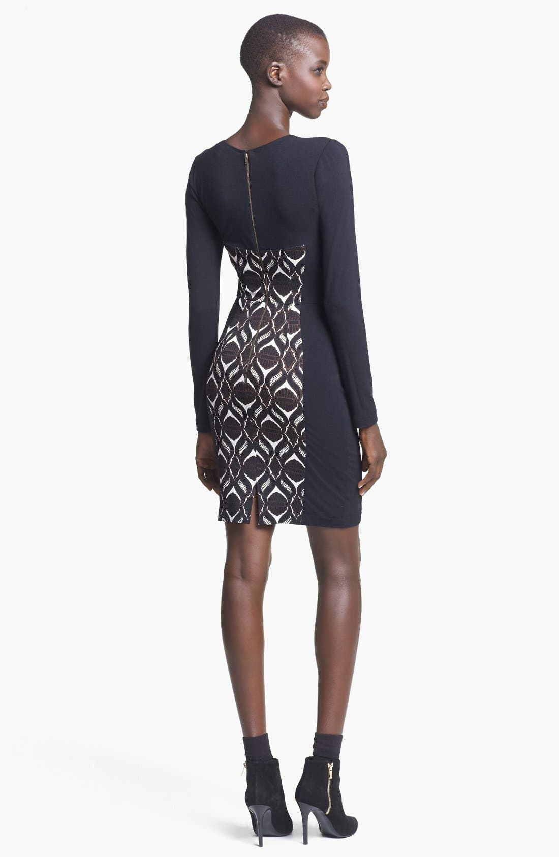Alternate Image 2  - Tracy Reese Jersey Sheath Dress