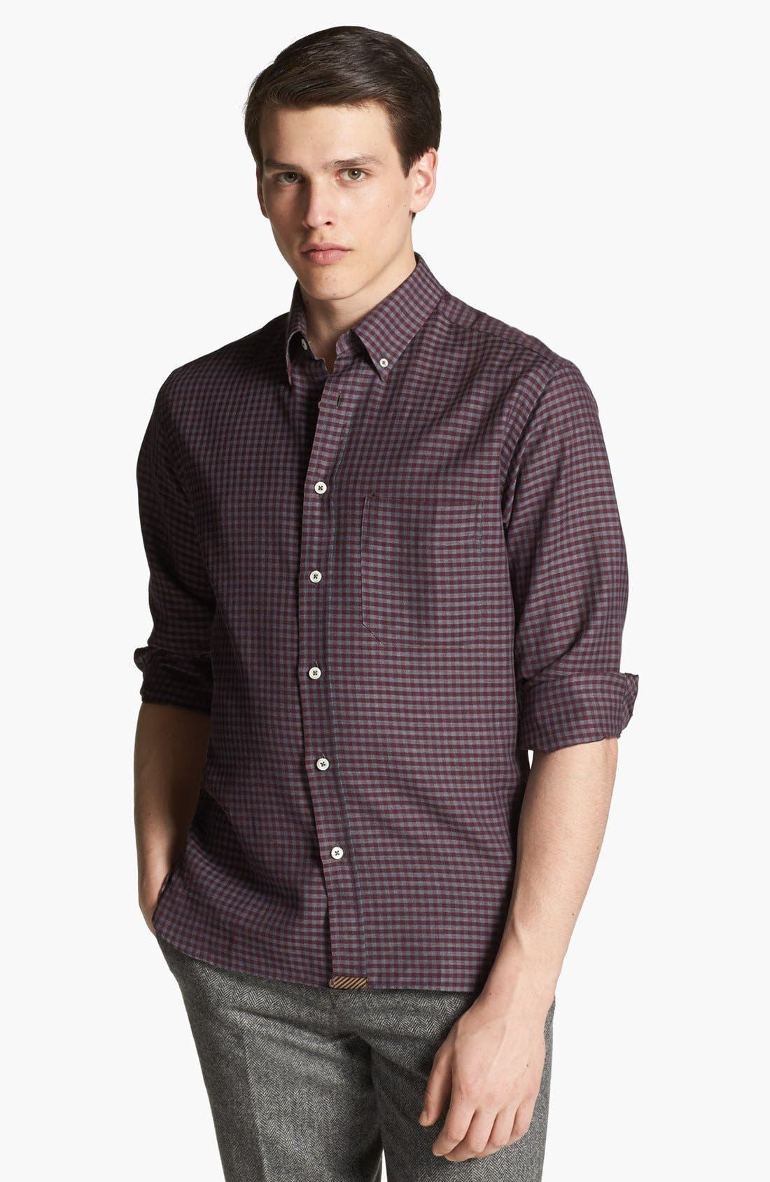 Main Image - Billy Reid 'Rosedale' Check Shirt