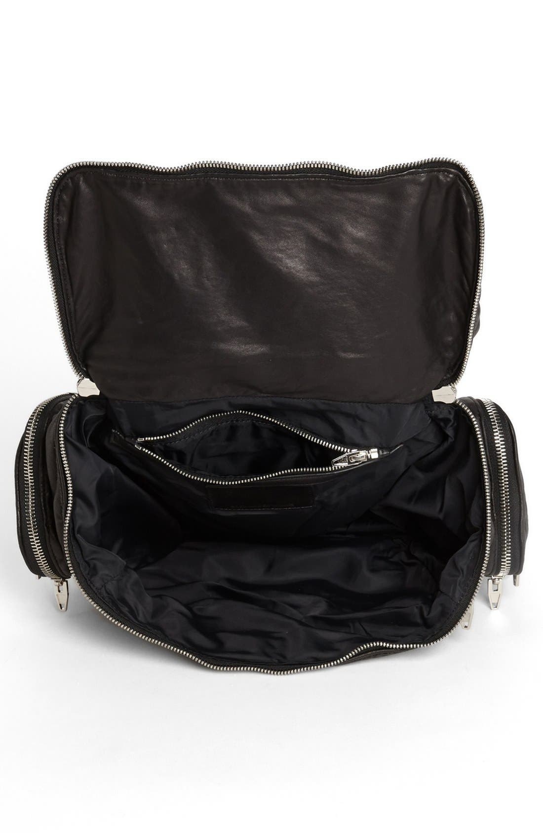 Alternate Image 3  - Alexander Wang 'Jane - Nickel' Leather Shoulder Bag