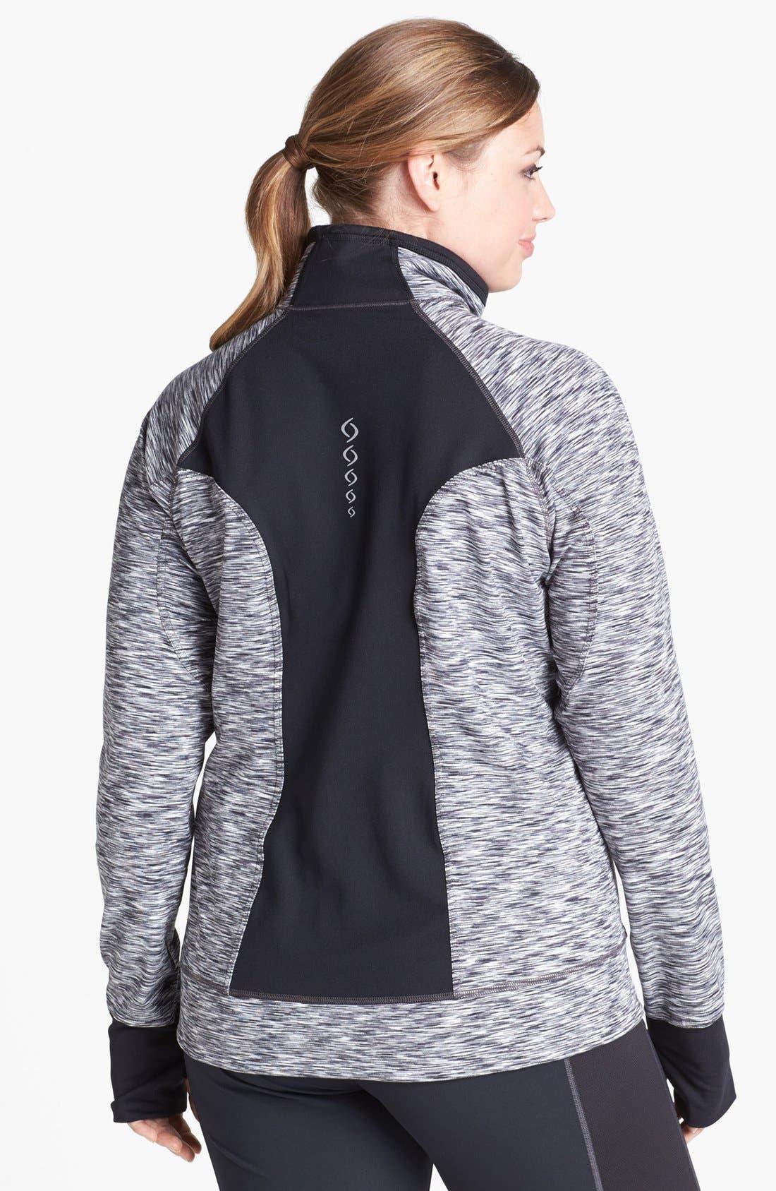 Alternate Image 2  - Moving Comfort 'Foxie' Full Zip Jacket (Plus Size)