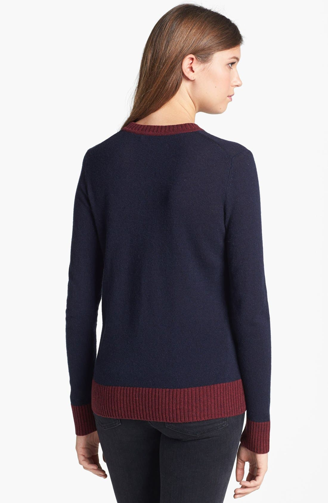Alternate Image 2  - Tory Burch 'Mandy' Wool & Cashmere Sweater