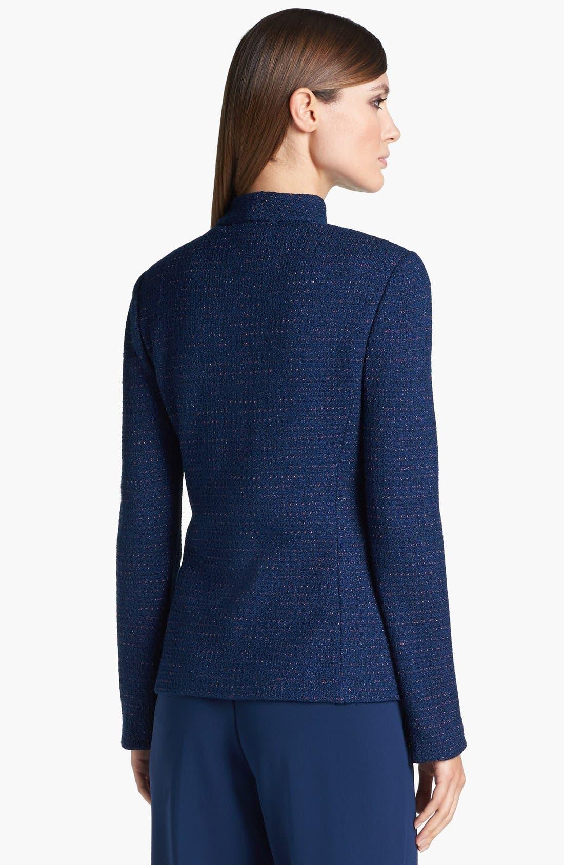Alternate Image 4  - St. John Collection Novelty Dot Tweed Fitted Jacket