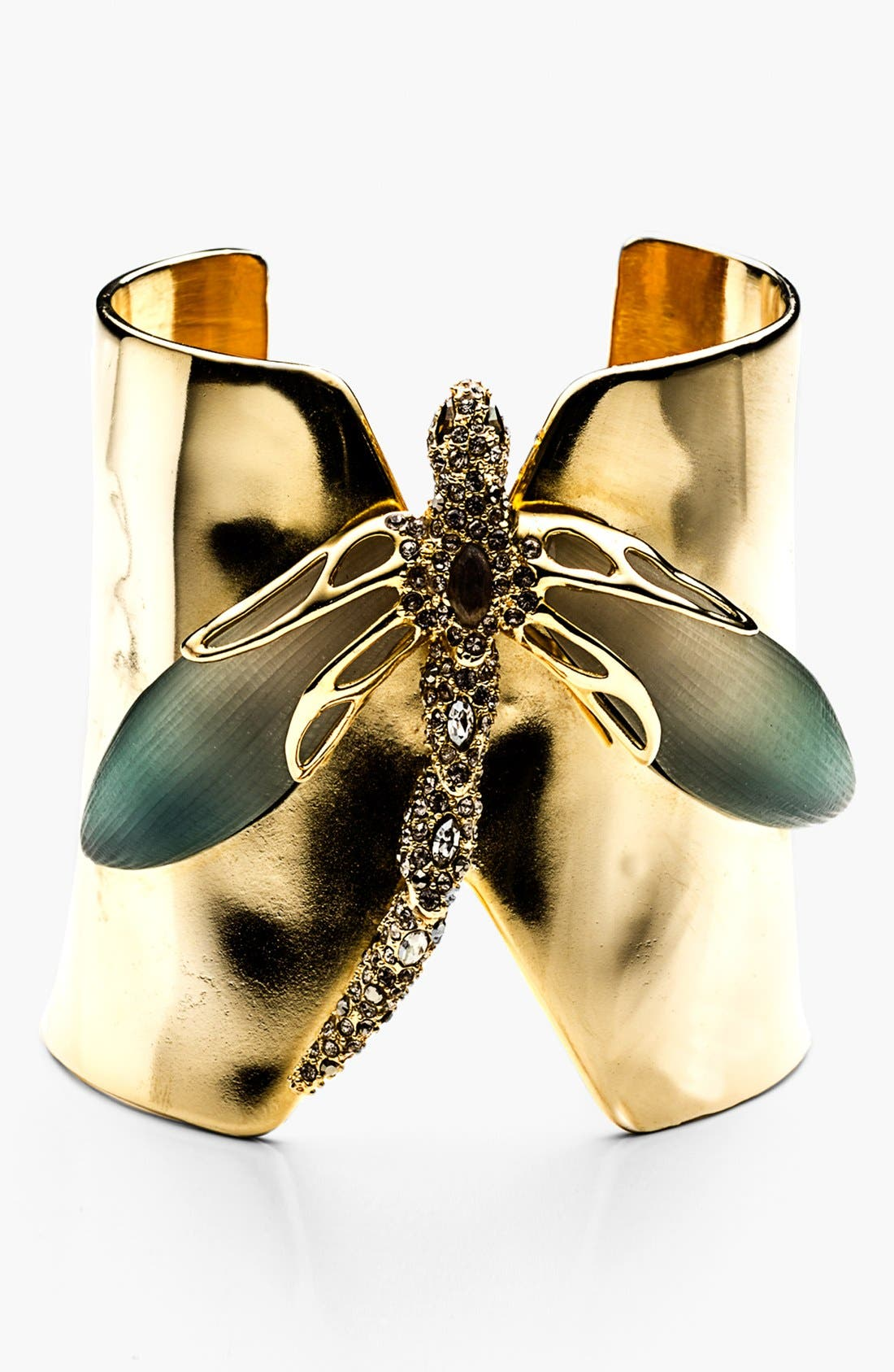 Alternate Image 1 Selected - Alexis Bittar 'Lucite® - Neo Bohemian' Dragonfly Cuff Bracelet