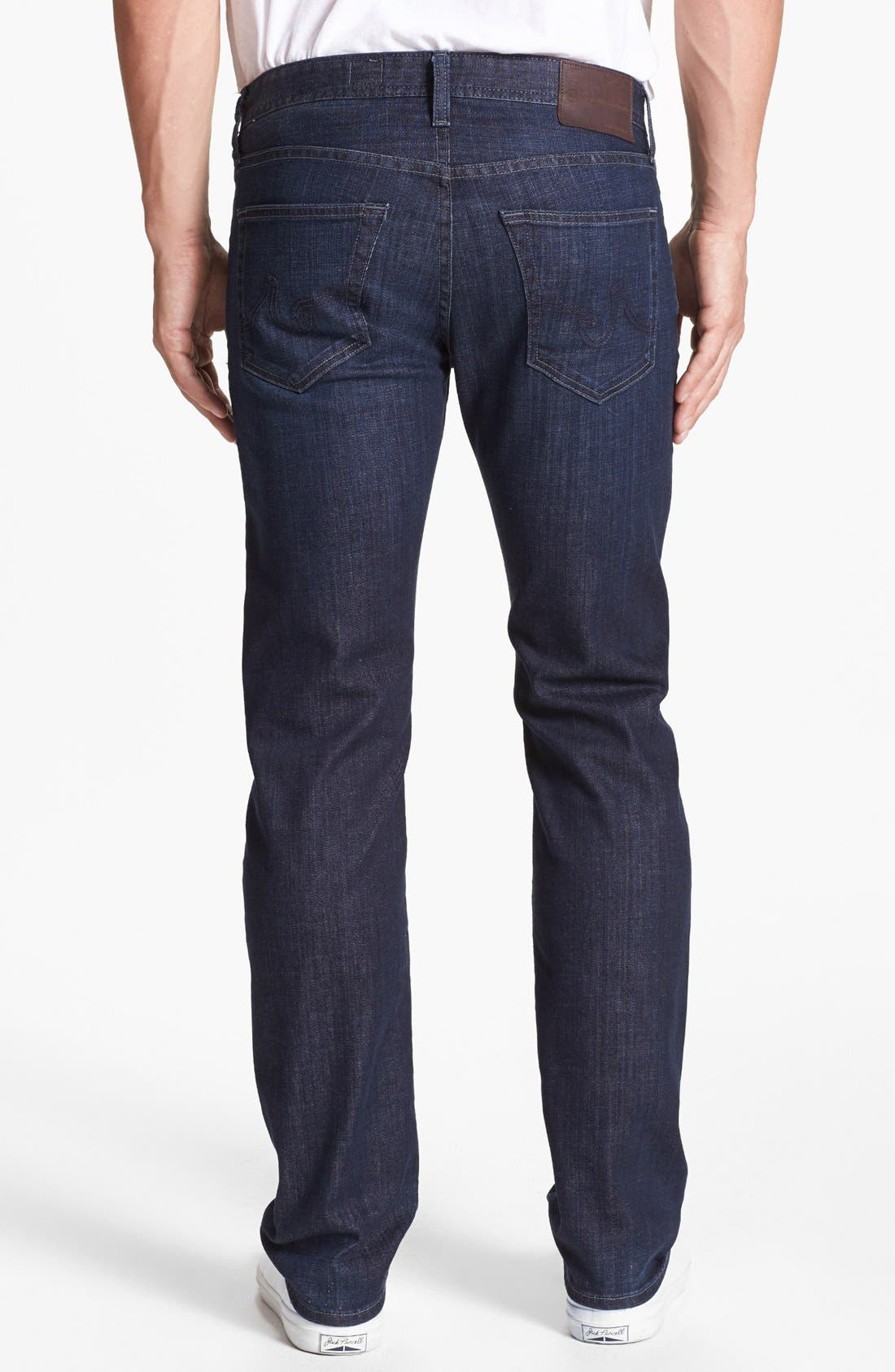 Alternate Image 2  - AG 'Matchbox' Slim Fit Jeans (Bunker)