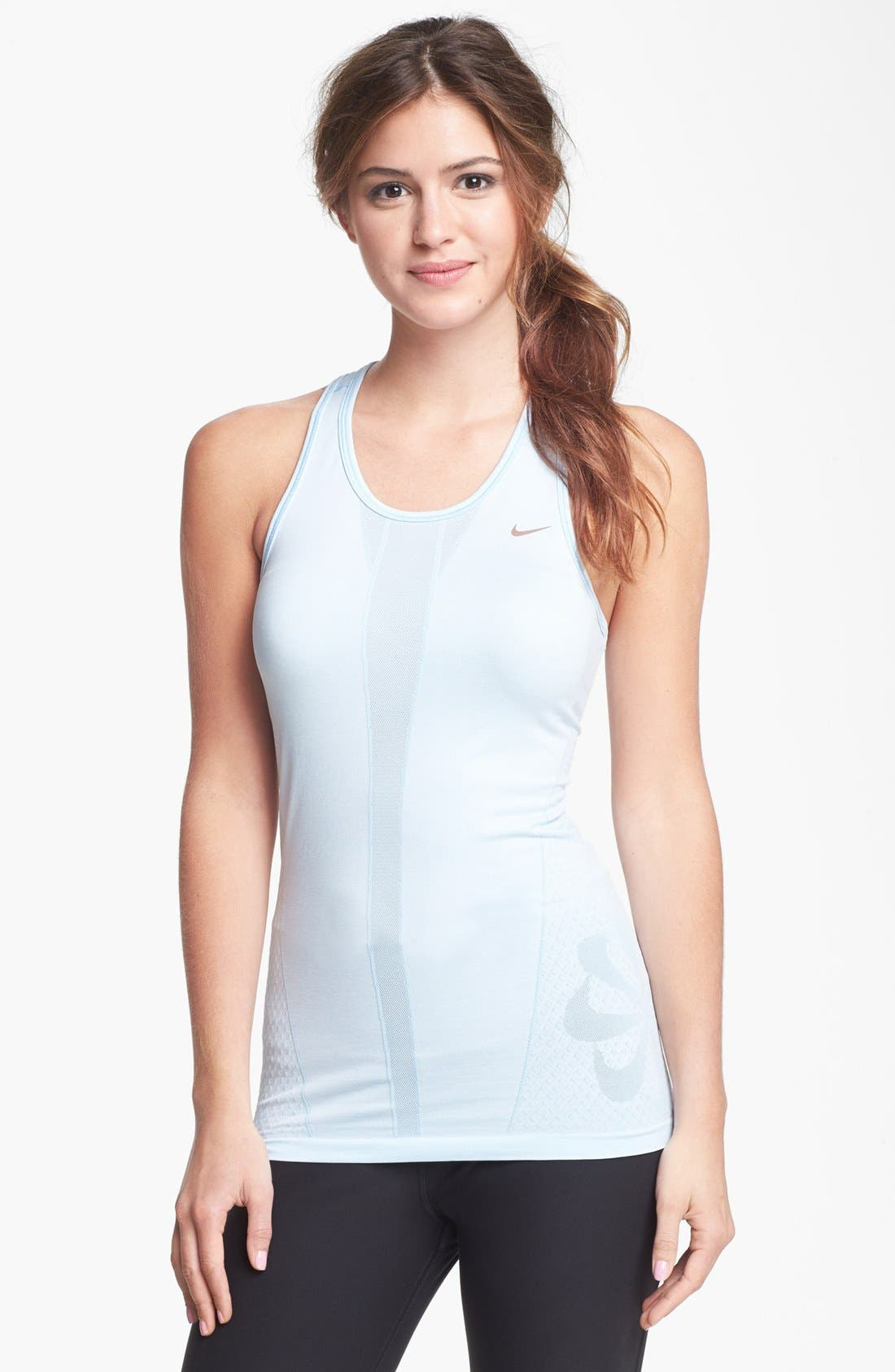 Alternate Image 1 Selected - Nike Seamless Knit Tank