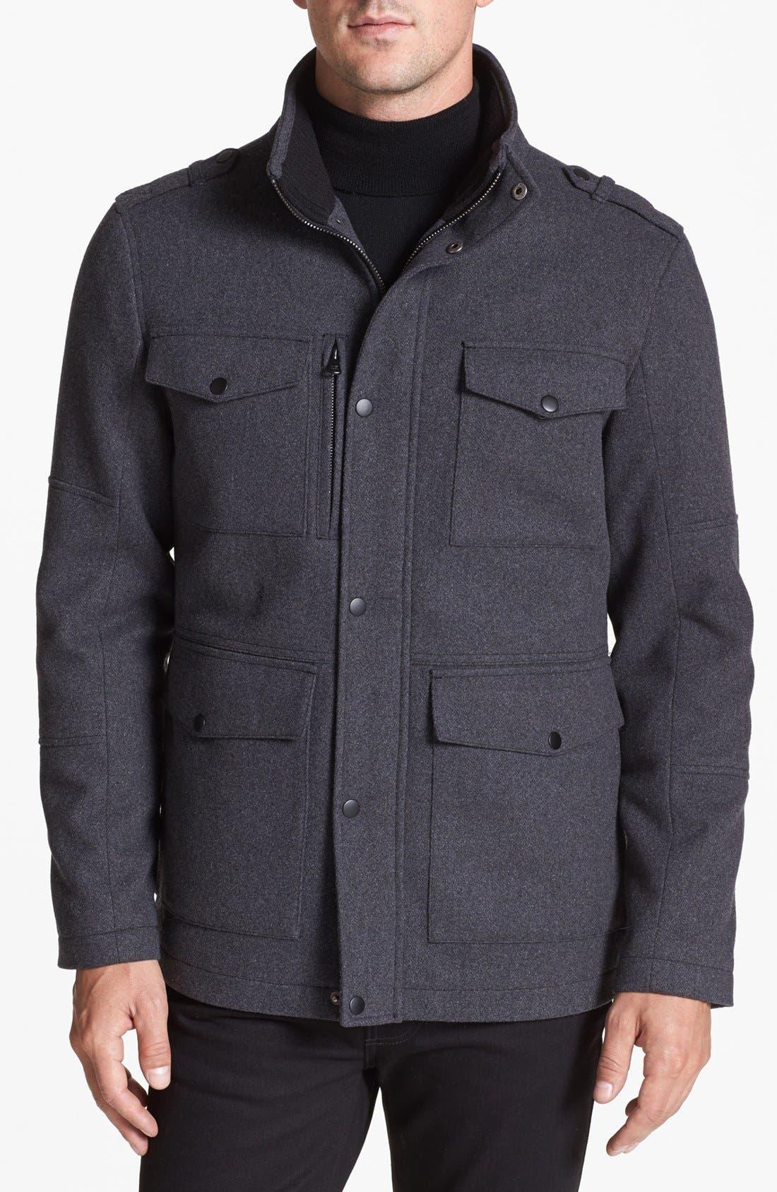 Alternate Image 1 Selected - Kenneth Cole New York 'Melton' Jacket