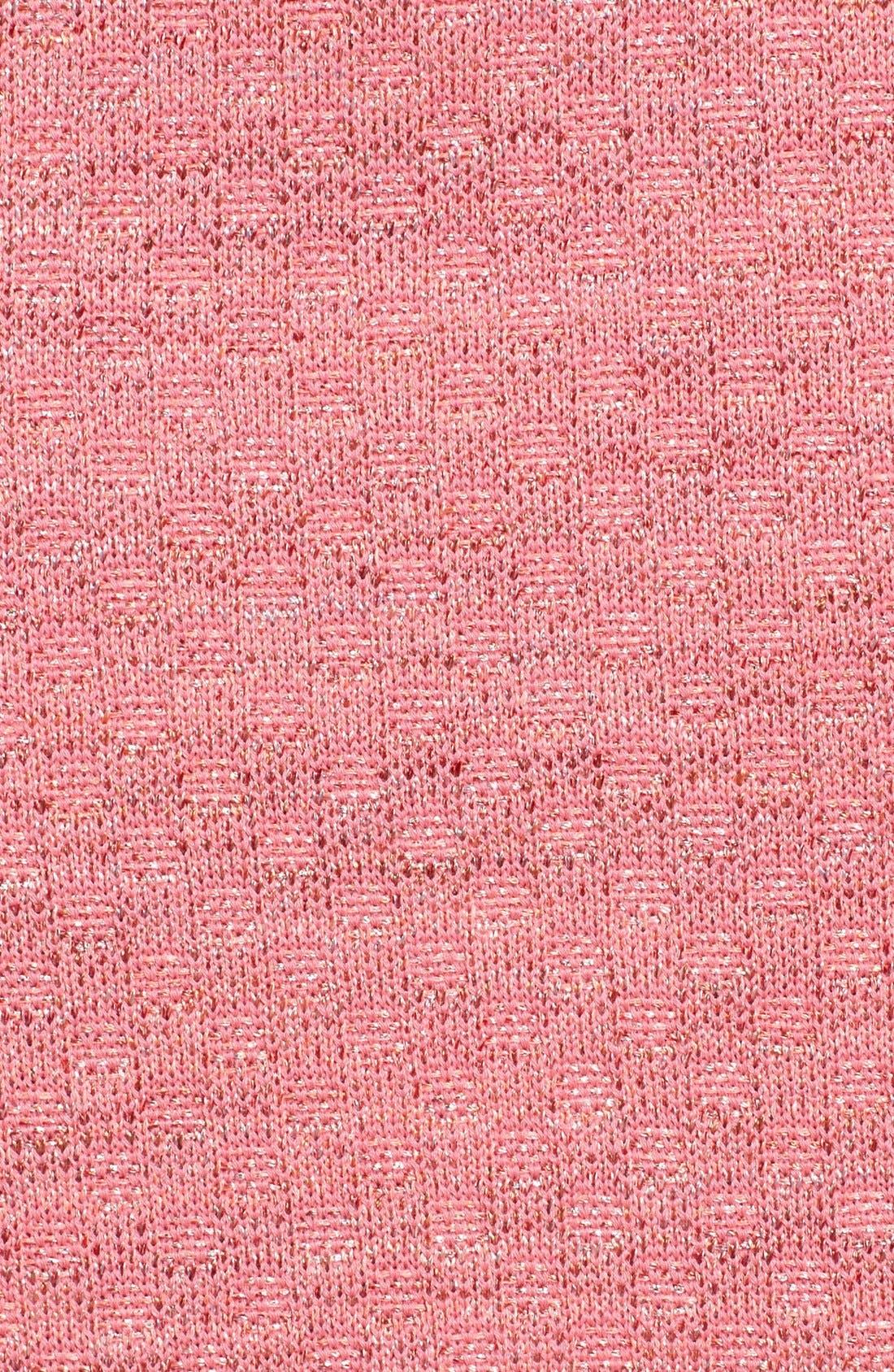 Alternate Image 5  - St. John Collection Damier Knit Pencil Skirt
