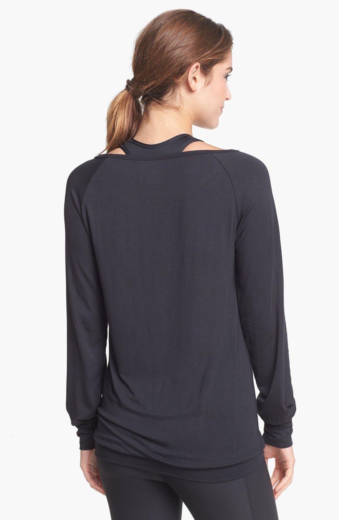 Alternate Image 2  - Nike Long Sleeve Logo Tee