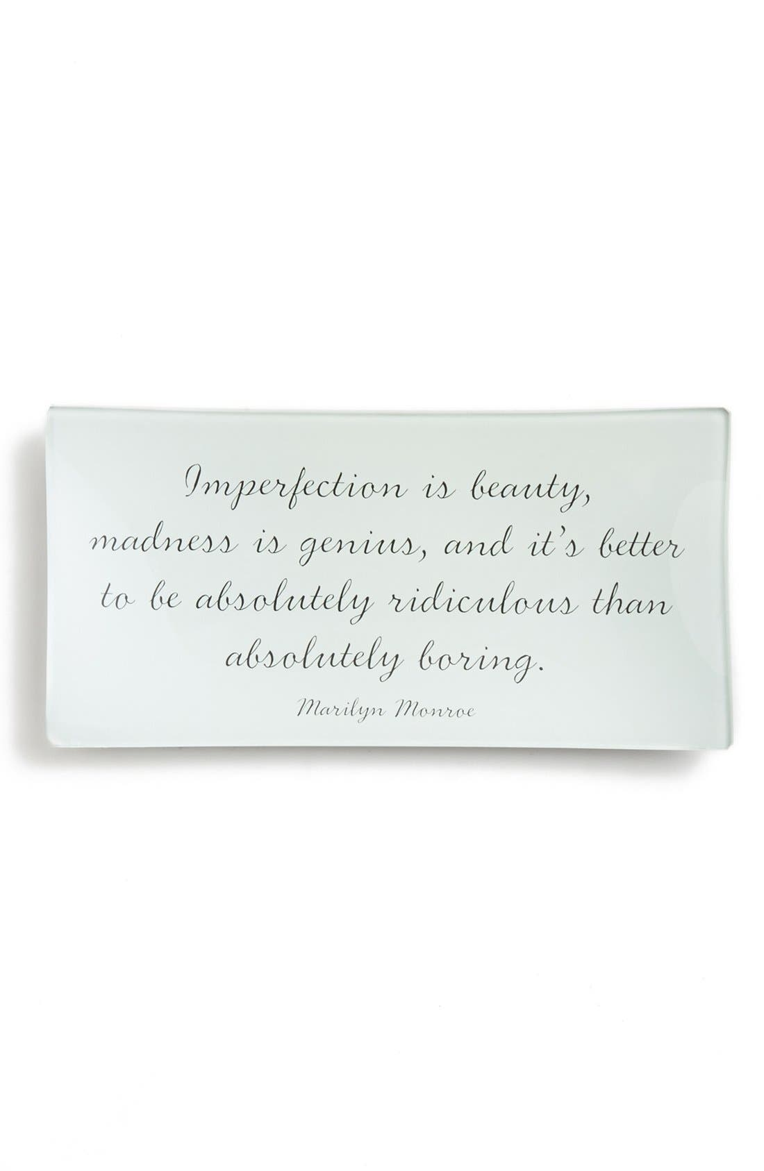 Main Image - Ben's Garden 'Imperfection Is Beauty' Trinket Tray