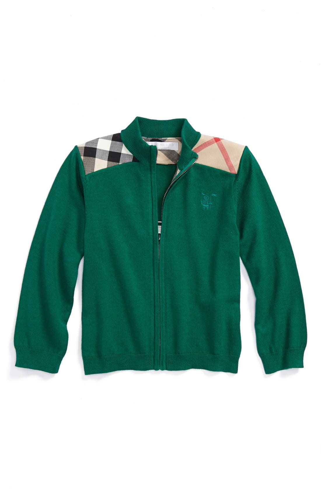 Main Image - Burberry 'Christian' Sweater (Baby)