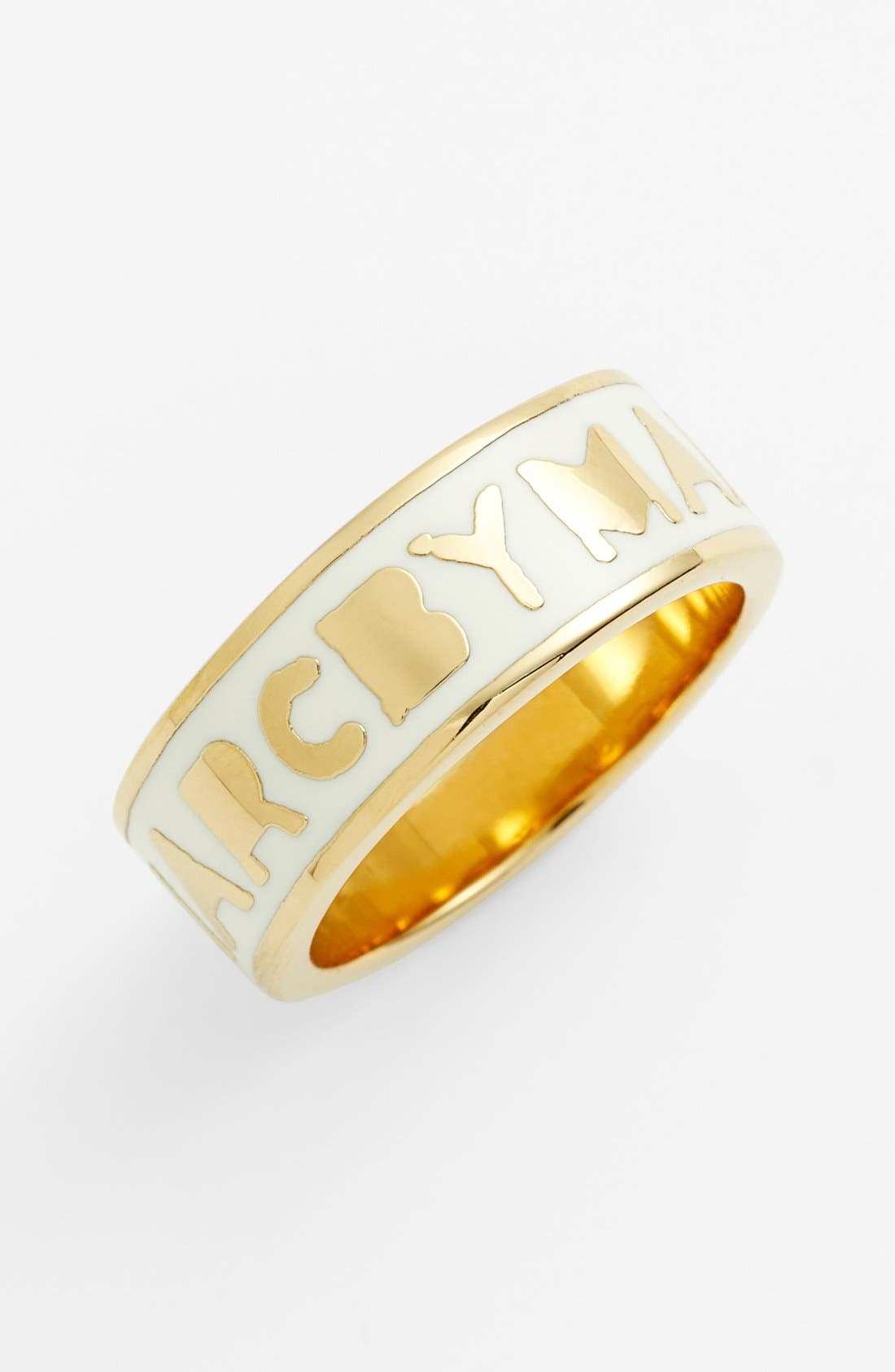 Alternate Image 1 Selected - MARC BY MARC JACOBS 'Classic Marc - Tiny Dreamy' Logo Band Ring