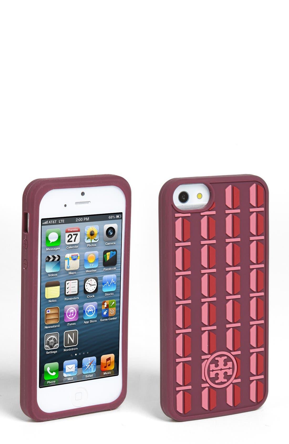 Alternate Image 1 Selected - Tory Burch 'Split Hex' iPhone 5 Case