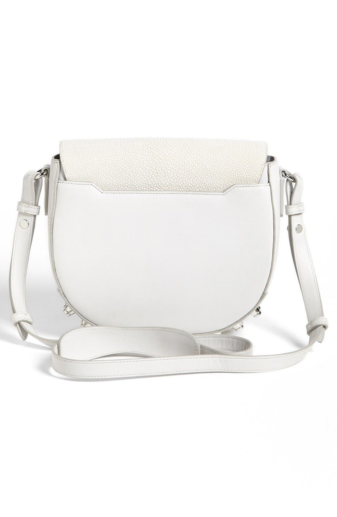 Alternate Image 4  - Alexander Wang 'Lia Stingray - Small' Leather Crossbody Bag