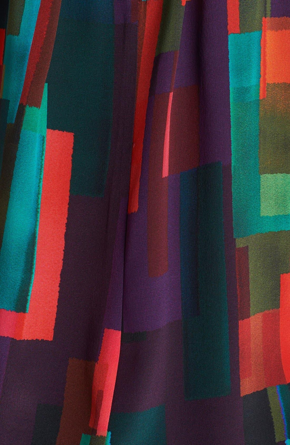 Alternate Image 3  - Trina Turk 'Bella' Print Silk Blouse