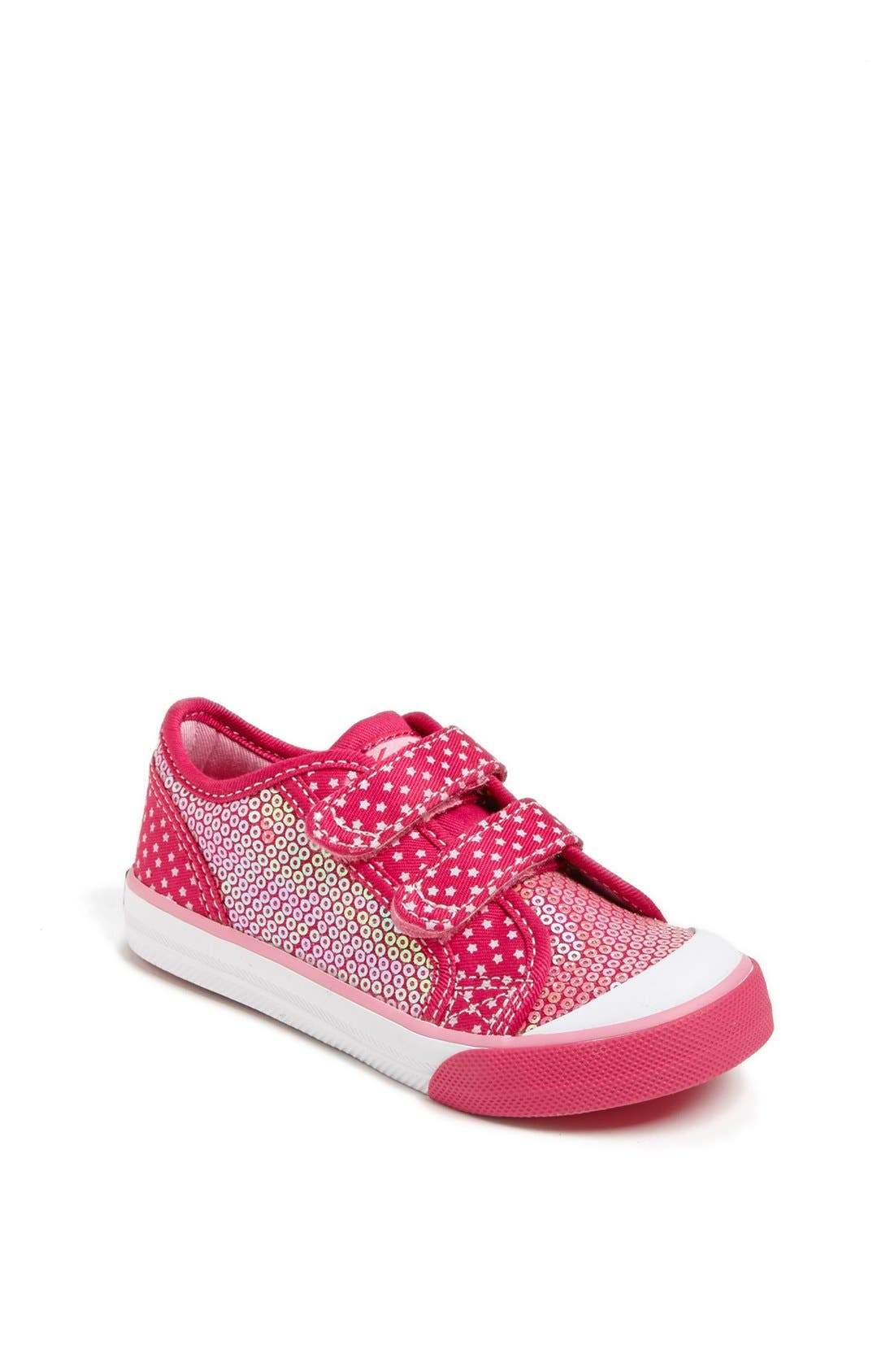 Alternate Image 1 Selected - Keds® 'Sparklynne' Sneaker (Walker & Toddler)