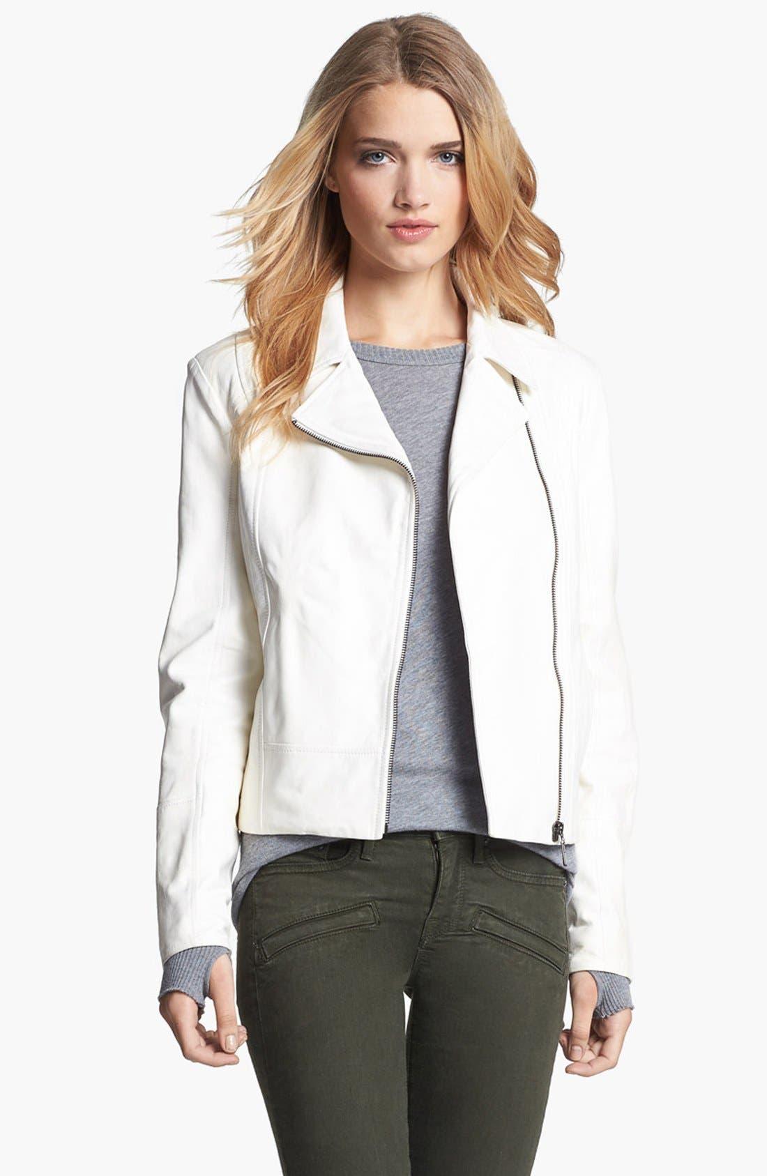 Alternate Image 1 Selected - Truth & Pride 'Beekman' Leather Jacket