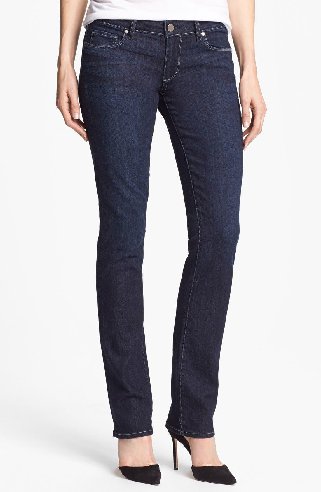 Alternate Image 1 Selected - Paige Denim 'Skyline' Straight Leg Jeans (Lucid)