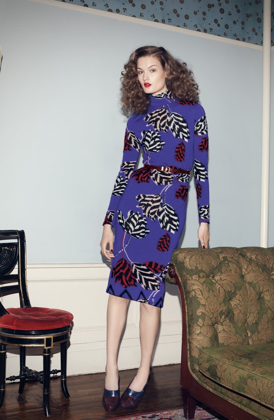 Alternate Image 1 Selected - MARC BY MARC JACOBS Sweater Dress & Accessories