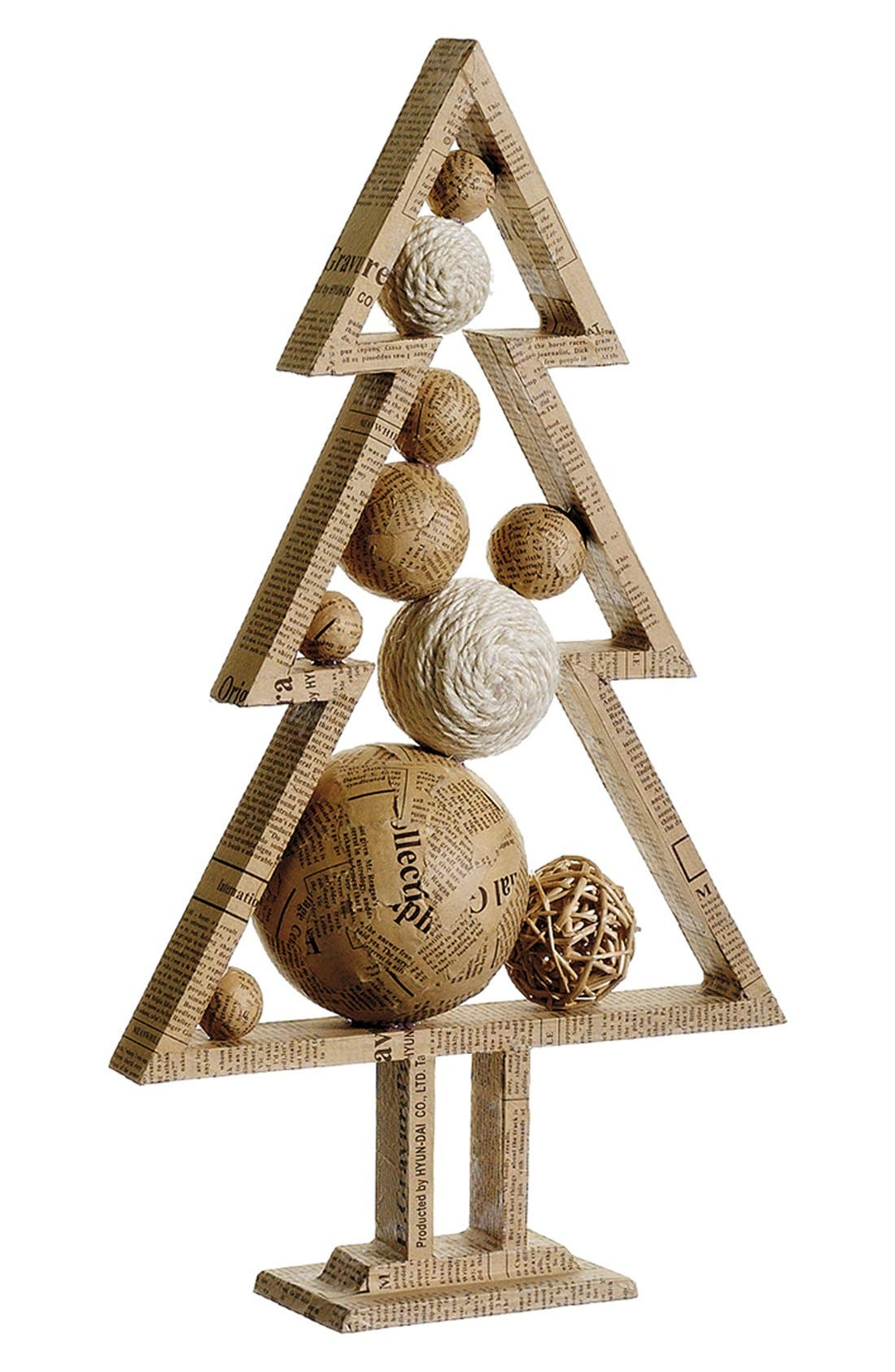Main Image - ALLSTATE Tree with Ornamental Ball Decoration, Small