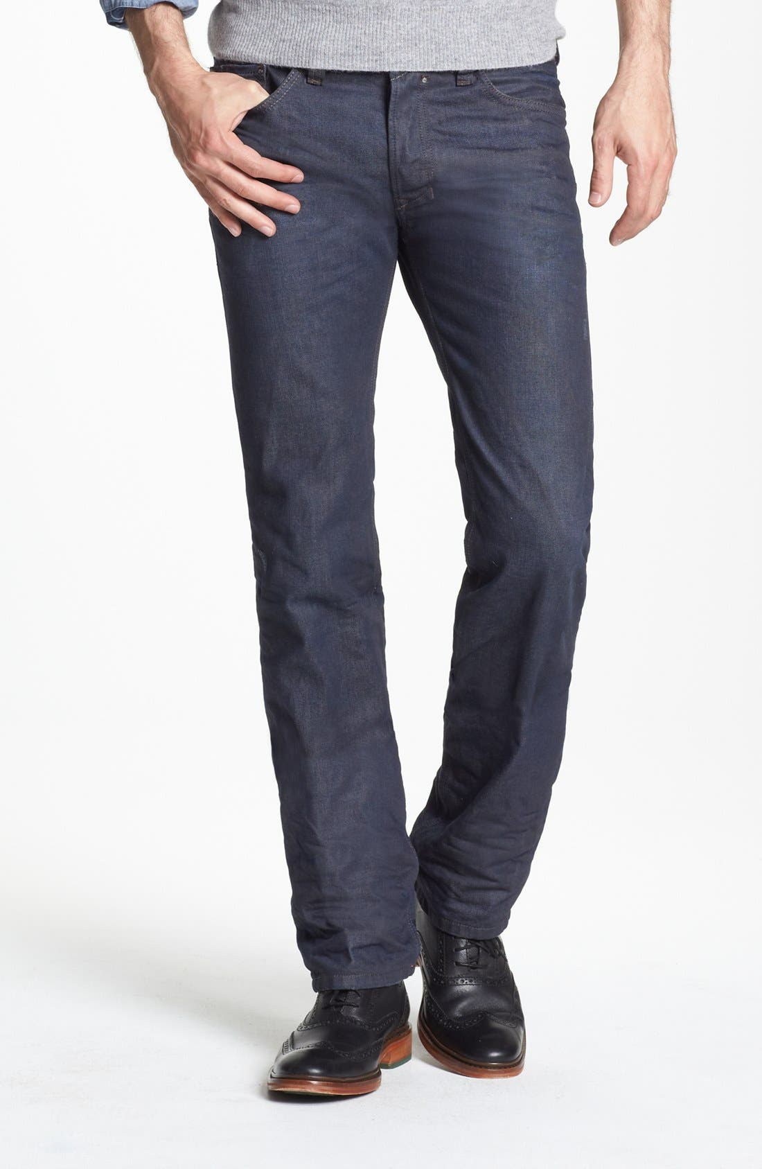 Alternate Image 1 Selected - DIESEL® 'Safado' Slim Fit Jeans (0806X)