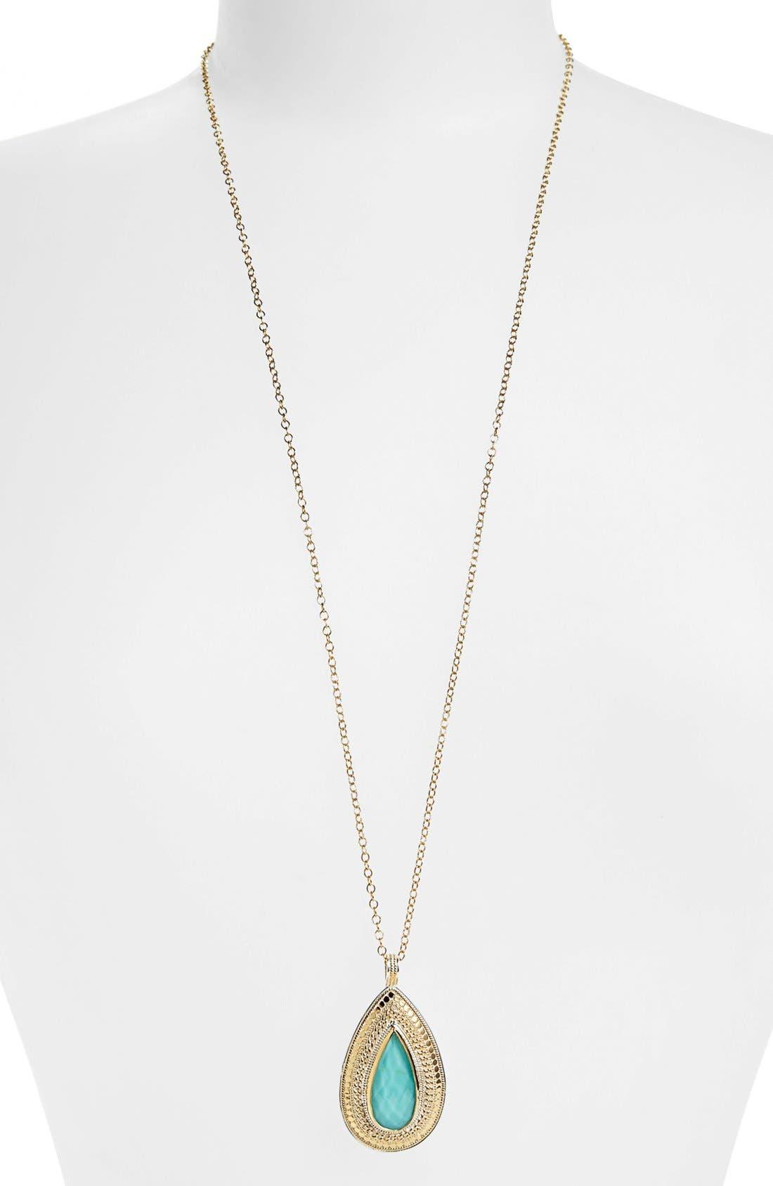 Main Image - Anna Beck 'Gili' Teardrop Pendant Necklace