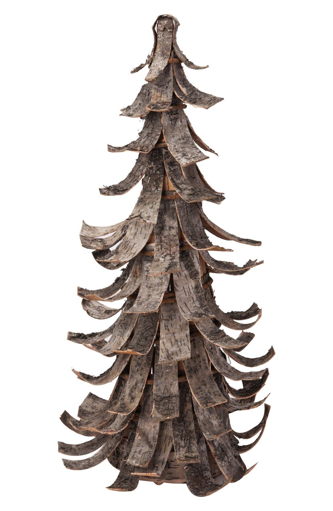 Main Image - Foreside Birch Bark Tree Decoration